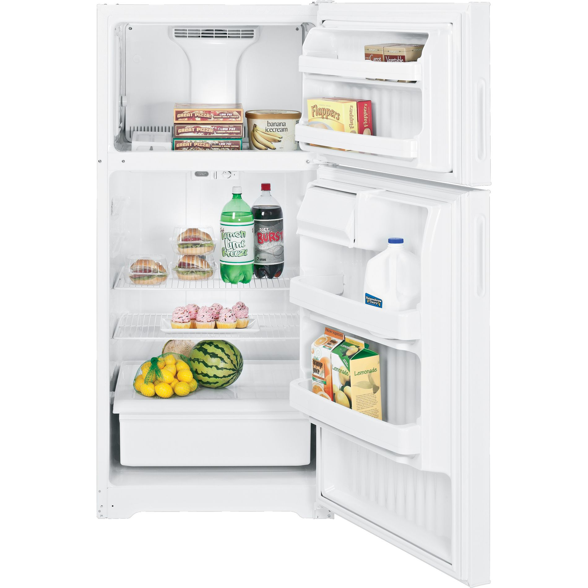 Hotpoint 15.6 cu. ft. Top Freezer Refrigerator - White