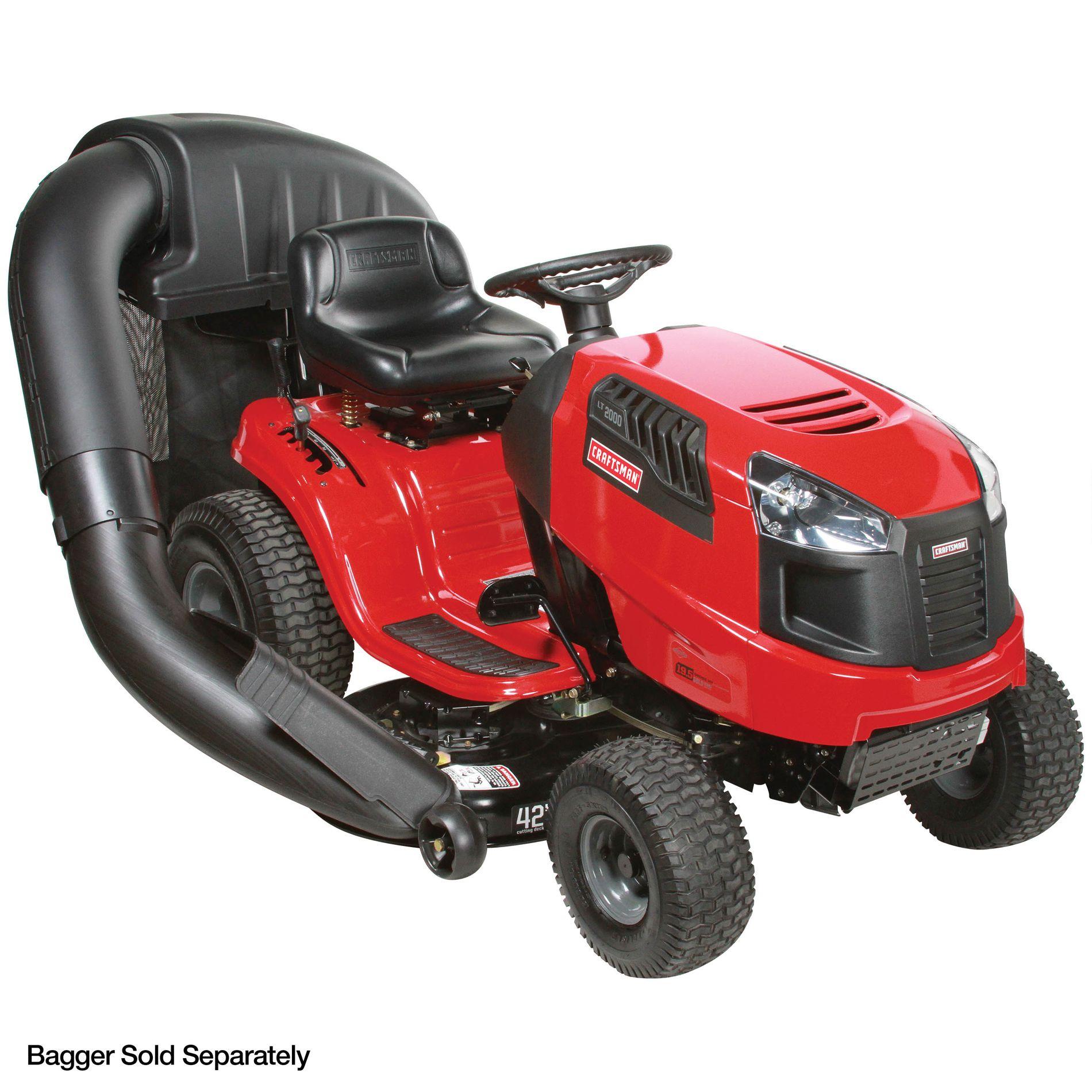 """Craftsman 42"""" 19.5hp* Automatic Lawn Tractor Non CA"""