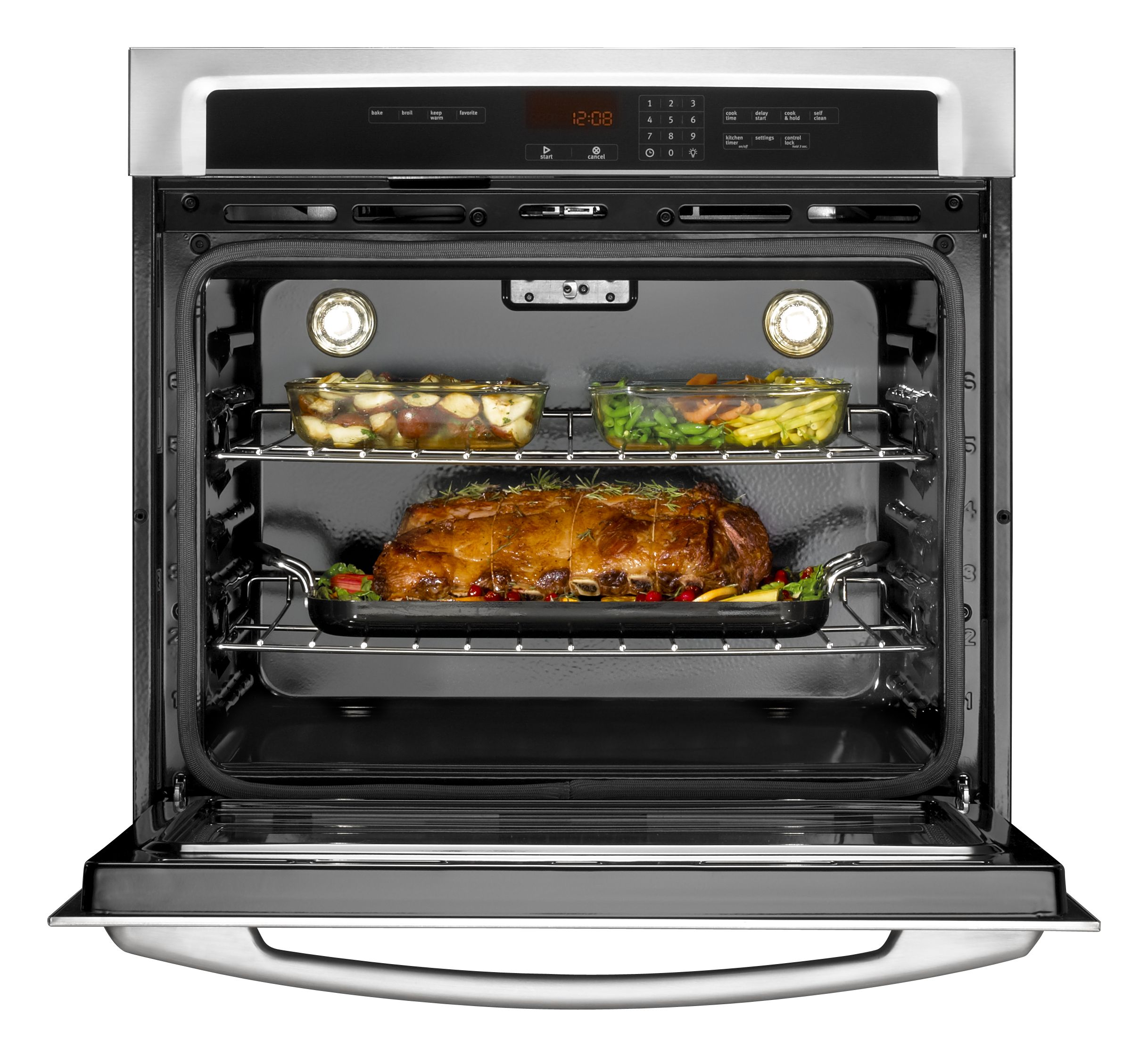 "Maytag 30"" Electric Wall Oven w/ FIT system - Stainless Steel"