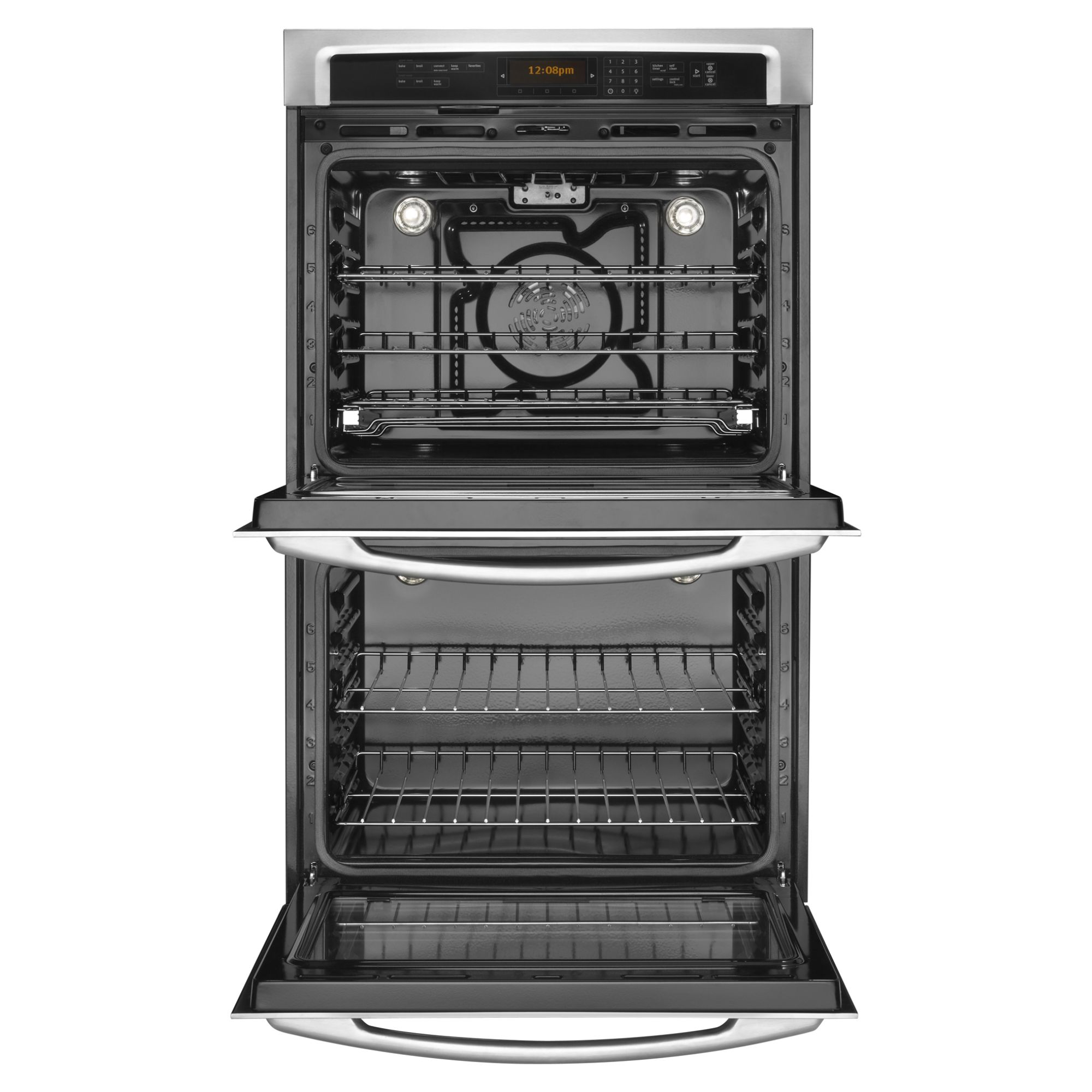 "Maytag 30"" Electric Double Wall Oven w/ Power Preheat - Stainless Steel"