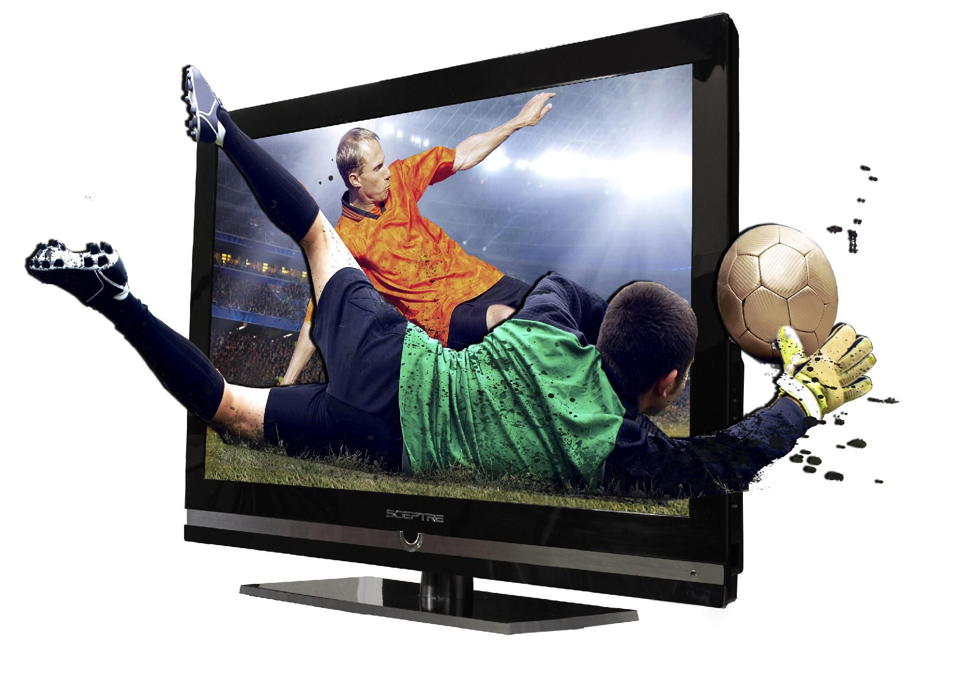 """Sceptre 32"""" Class 1080p 60Hz 3D LED HDTV - E320BV-FHDD"""