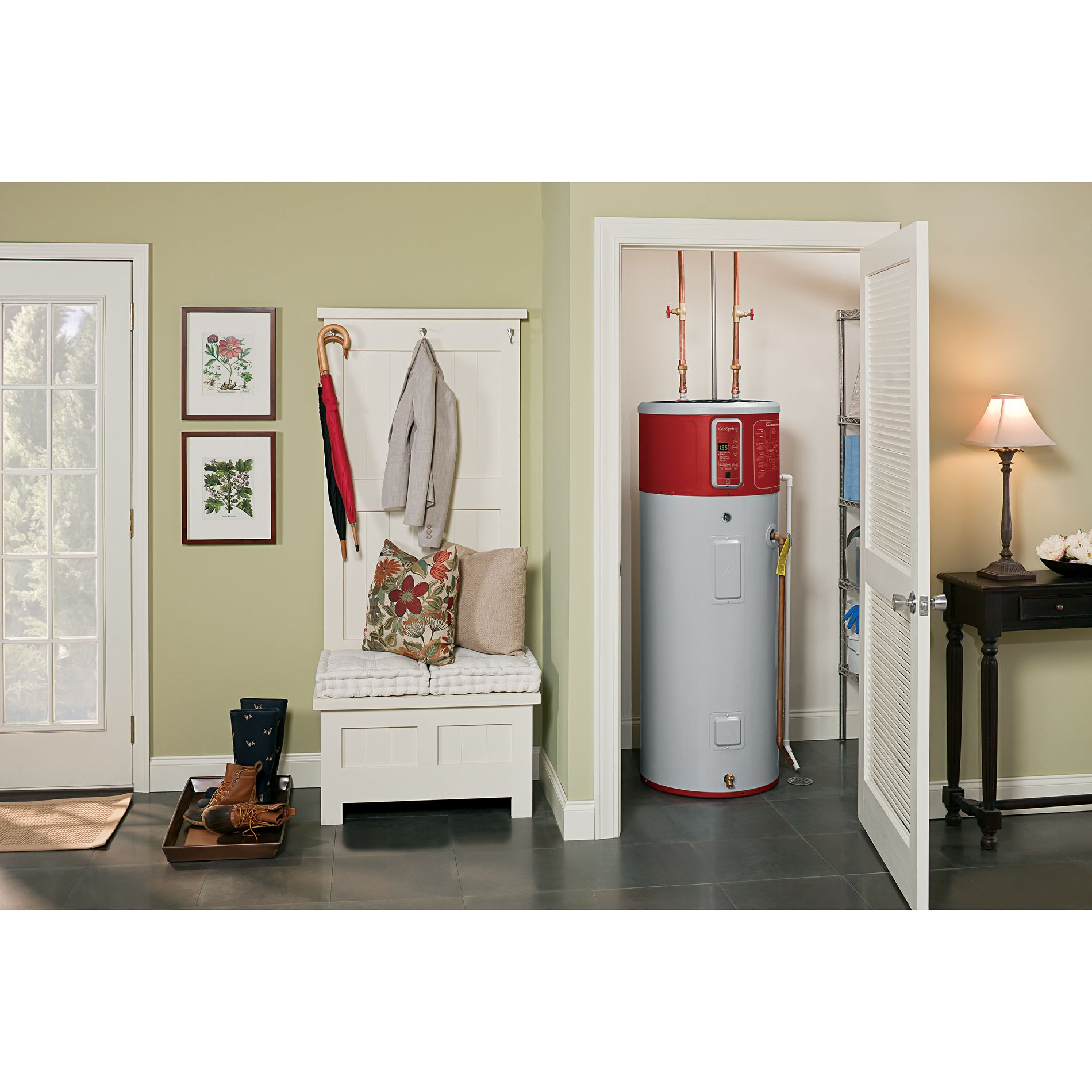 GE Appliances GeoSpring 50 Gal. Hybrid-Electric Heat Pump Water Heater - Limited Availability