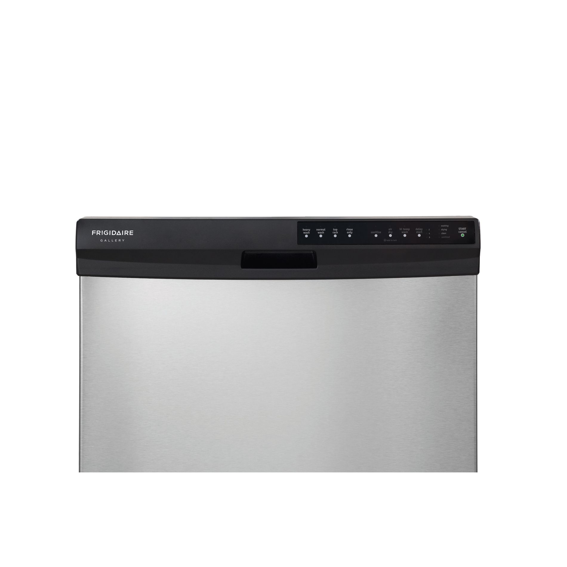 "Frigidaire 24"" Built-In Dishwasher - Stainless Steel"
