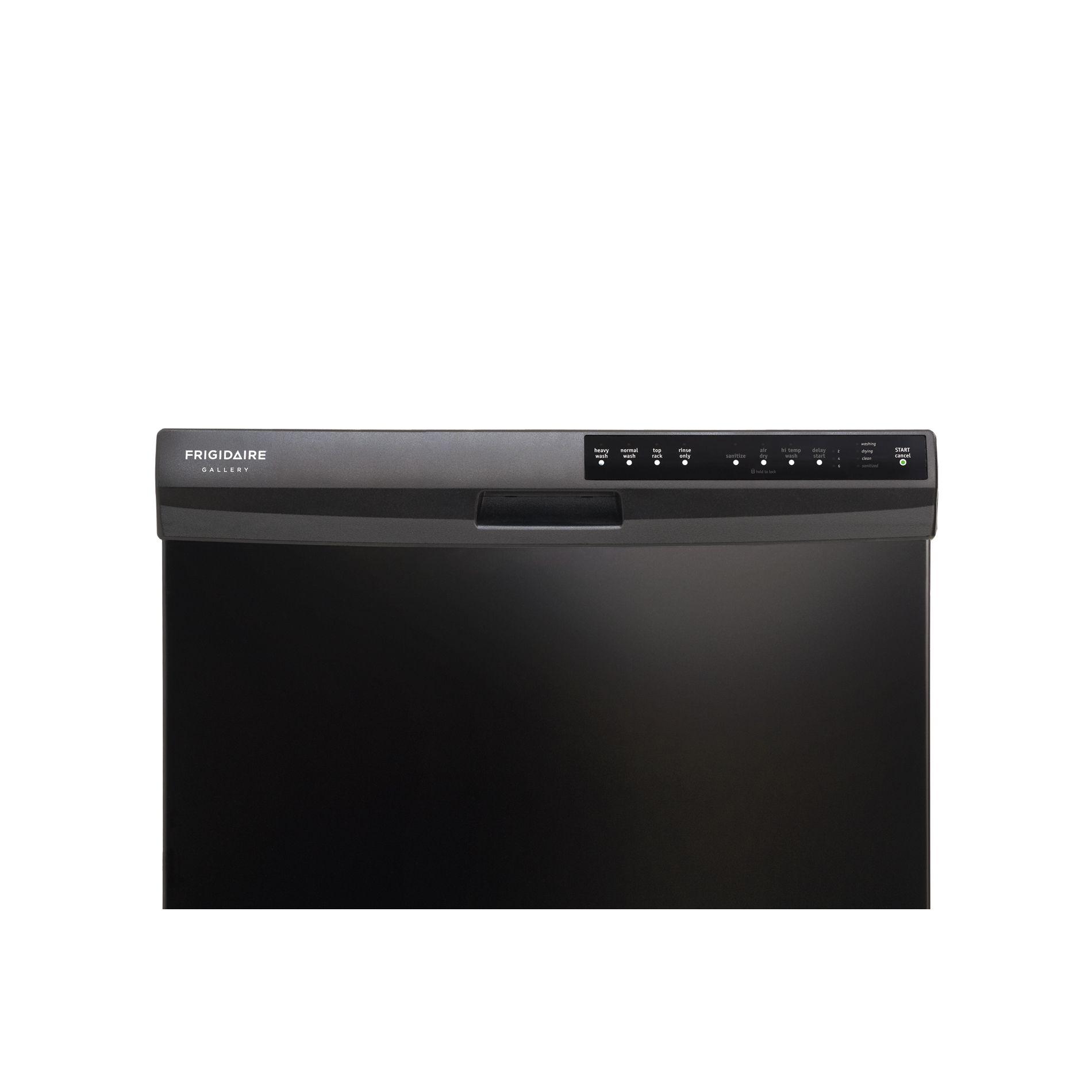 "Frigidaire 24"" Built-In Dishwasher - Black"