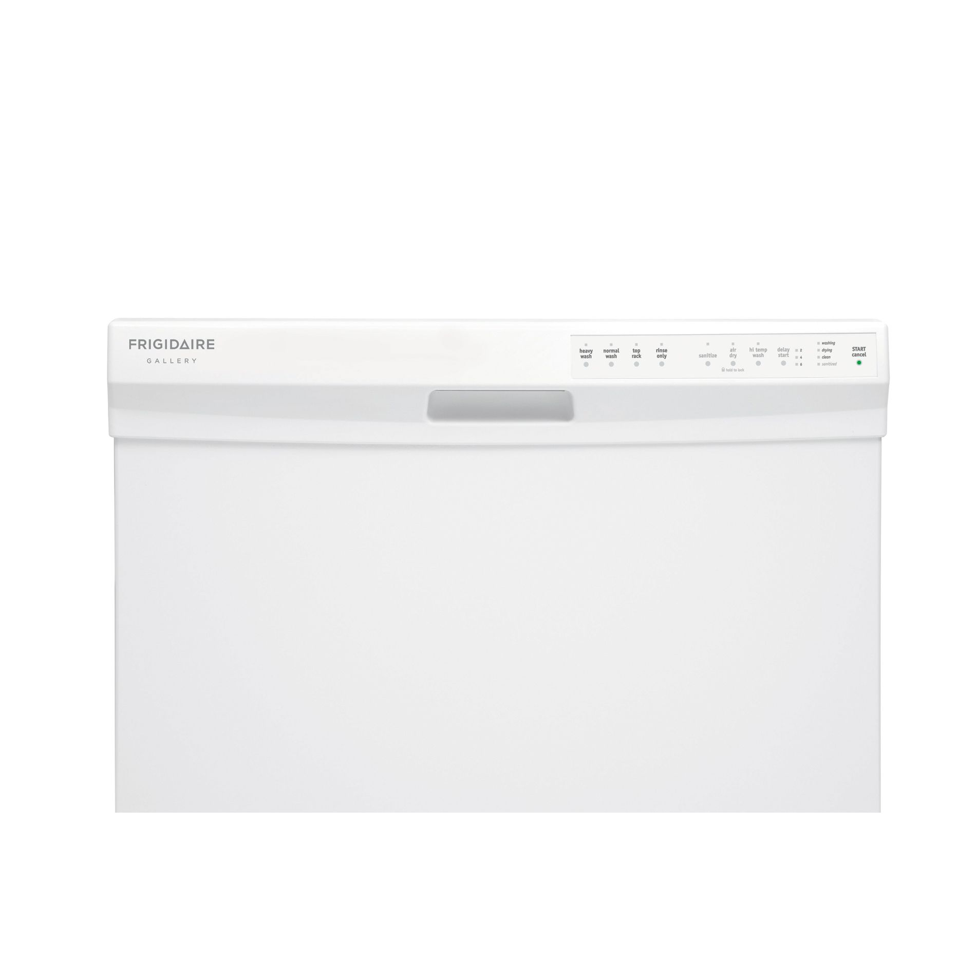 "Frigidaire 24"" Built-In Dishwasher - White"