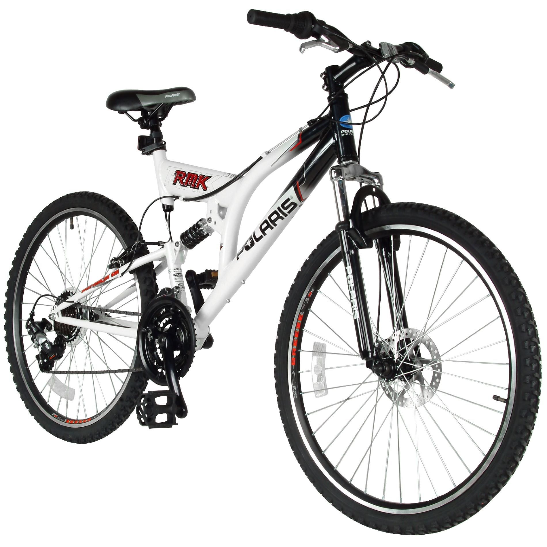 "Polaris RMK 26"" Dual Suspension Mens Mountain Bike"