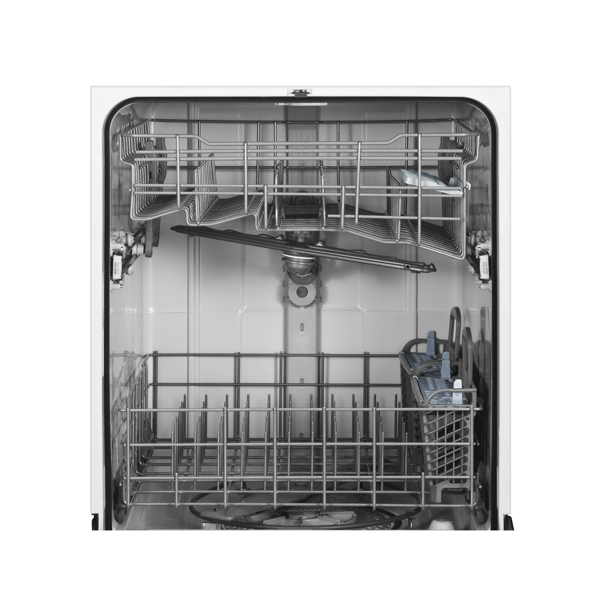 """Maytag 24"""" Jetclean® Plus Dishwasher with Fully Integrated Controls - Black"""