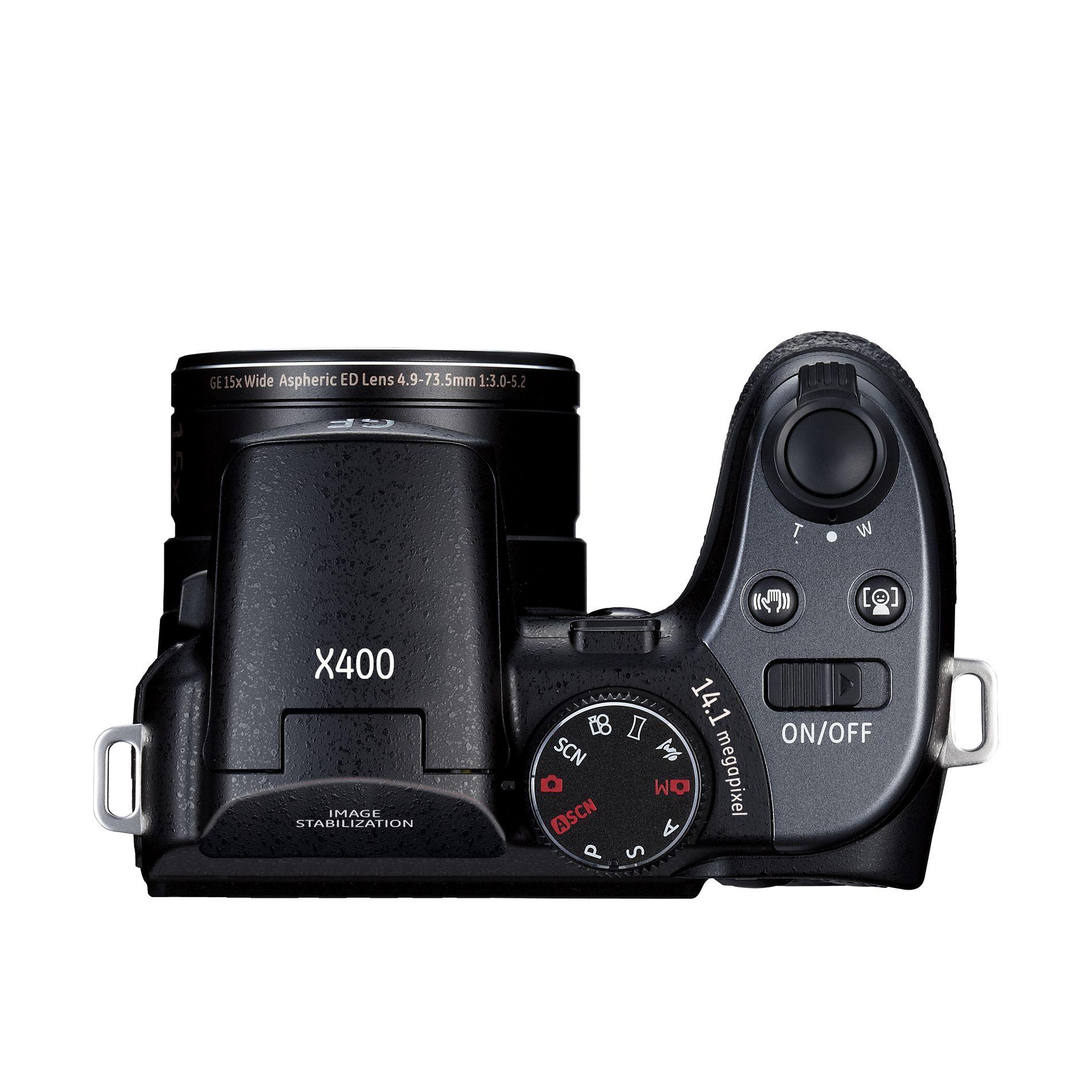 GE X400 15X zoom 14MP Digital Camera