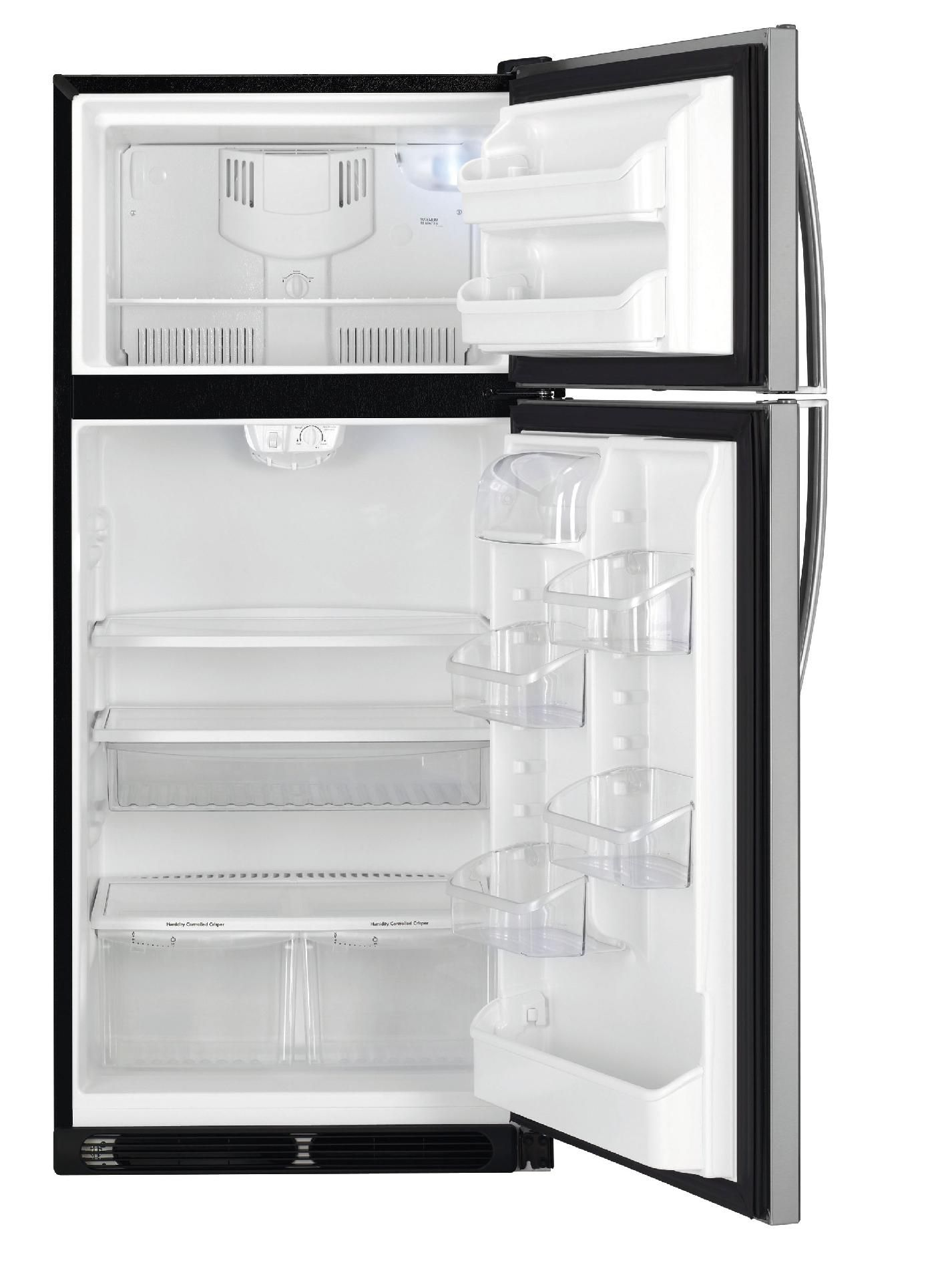 Kenmore 18 cu. ft. Top Freezer Refrigerator - Stainless Steel