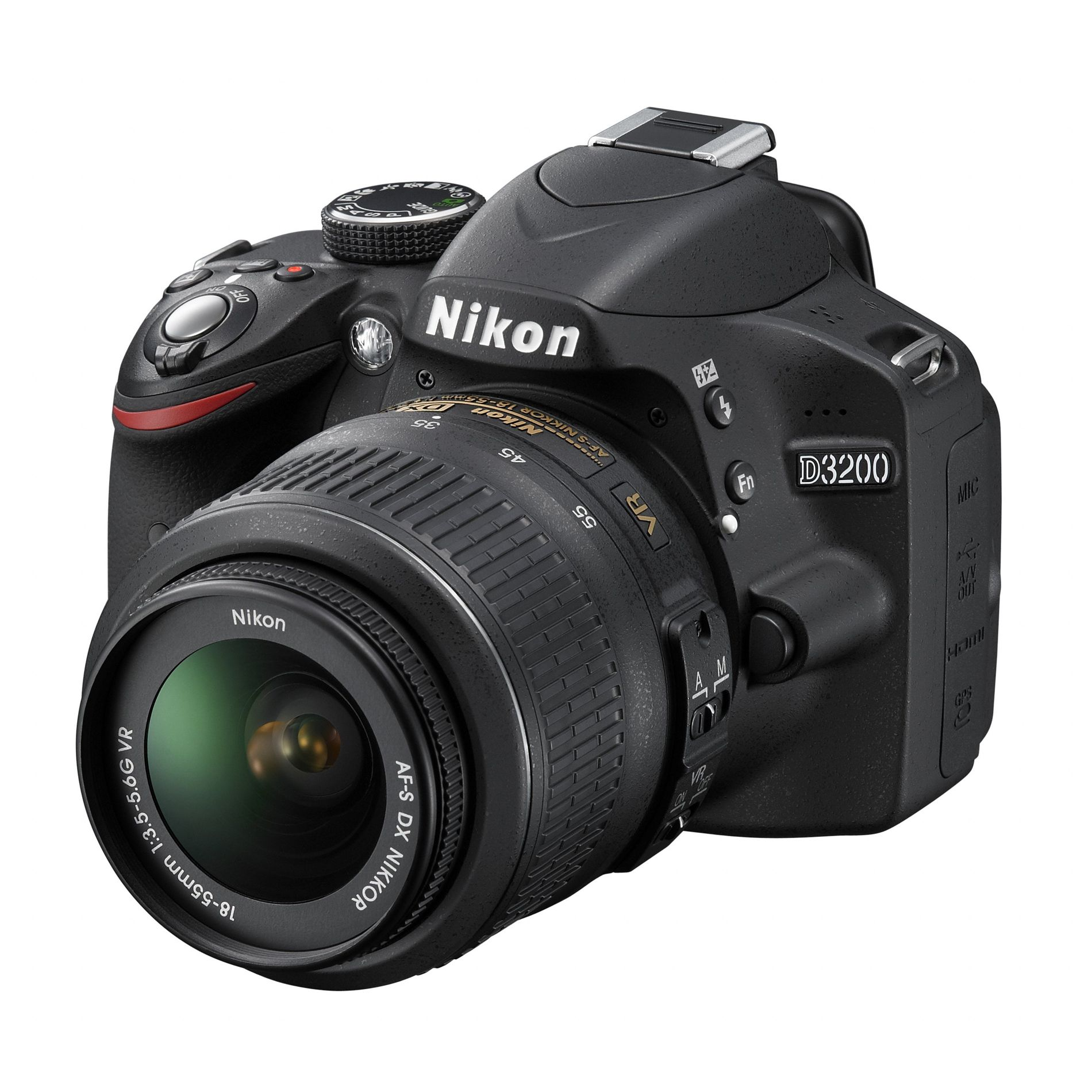 Nikon D3200 DSLR Kit - Black