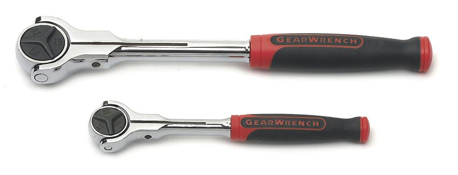 GearWrench 2 pc. Cushion Grip Roto Ratchet Set