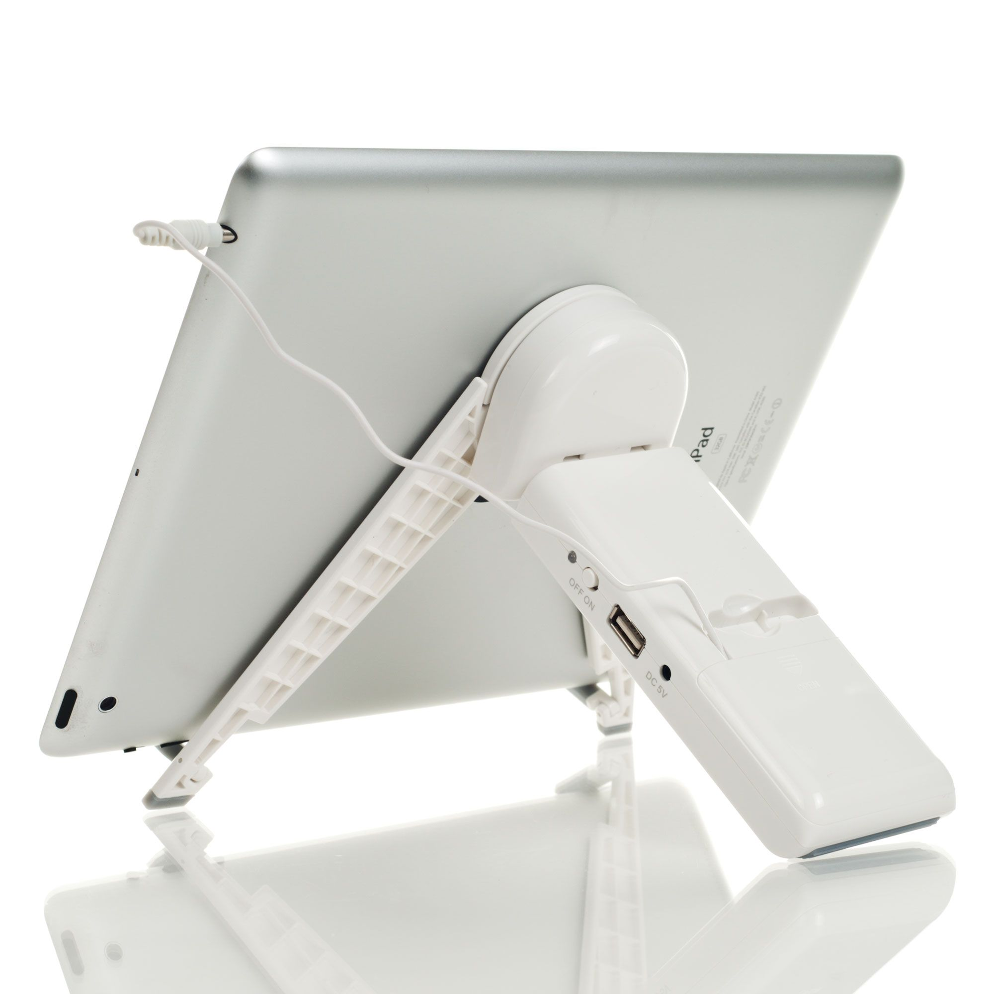 TGT Kick It Stand iPad & Tablet USB Powered Stand & Speaker