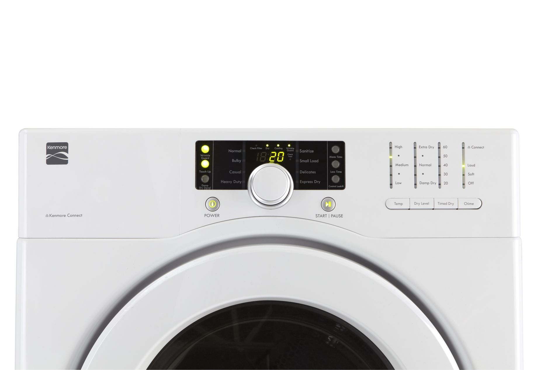Kenmore 7.1 cu. ft. Electric Dryer /w Sensor Dry - White