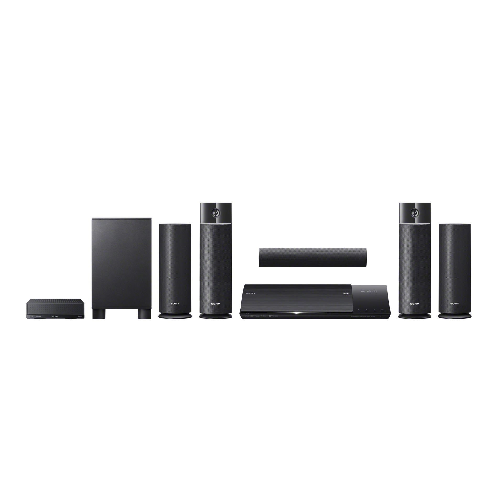 Sony Blu-ray Disc™ Home Theater w/Wireless Rear Speakers