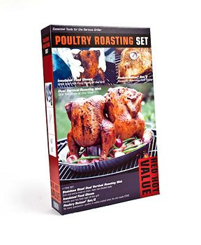 Charcoal Companion Poultry Roasting Set
