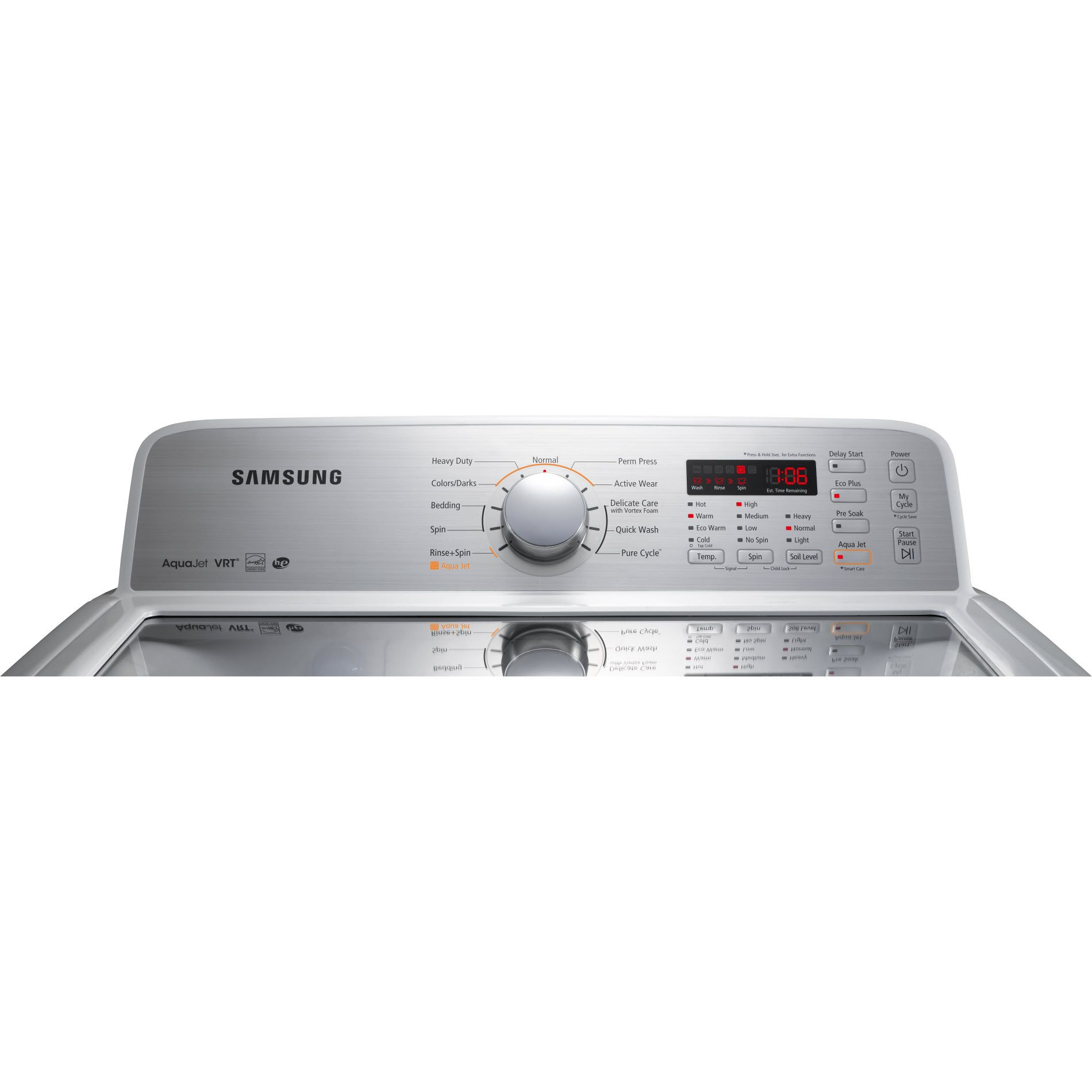 Samsung 4.5 cu. ft. High-Efficiency Top-Load Washer