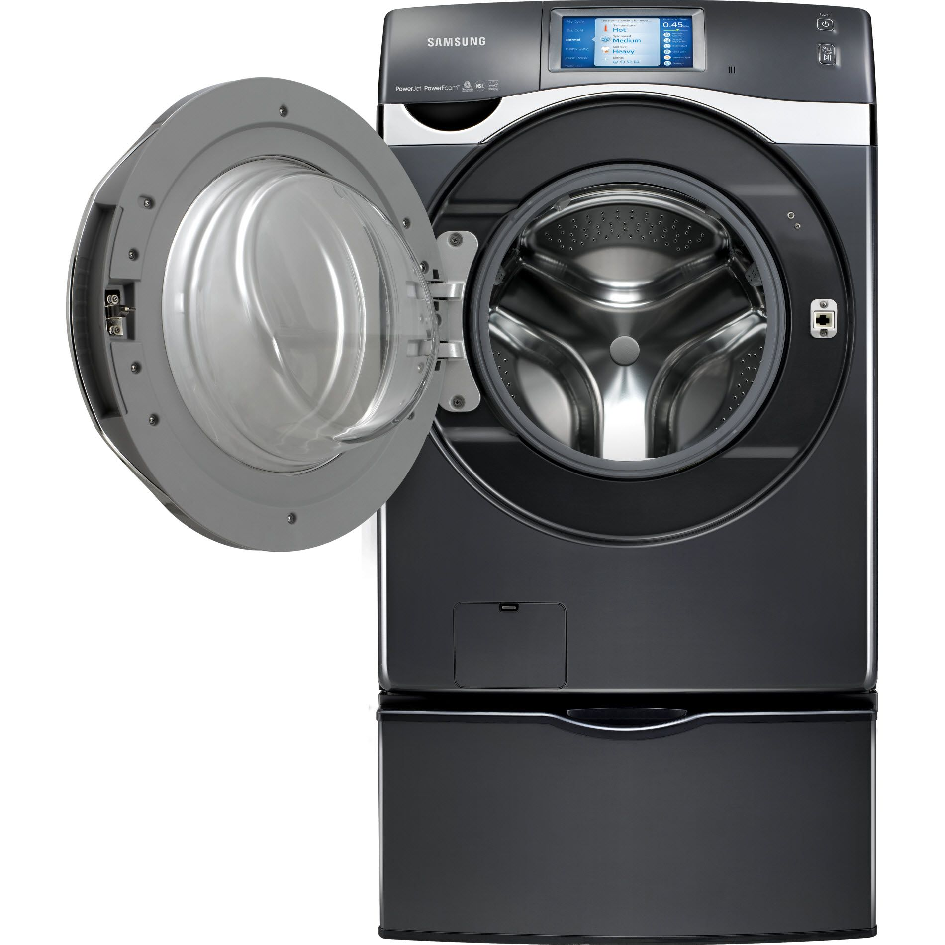 Samsung 4.5 cu. ft. Front-Load Washer w/VRT Plus™  - Onyx