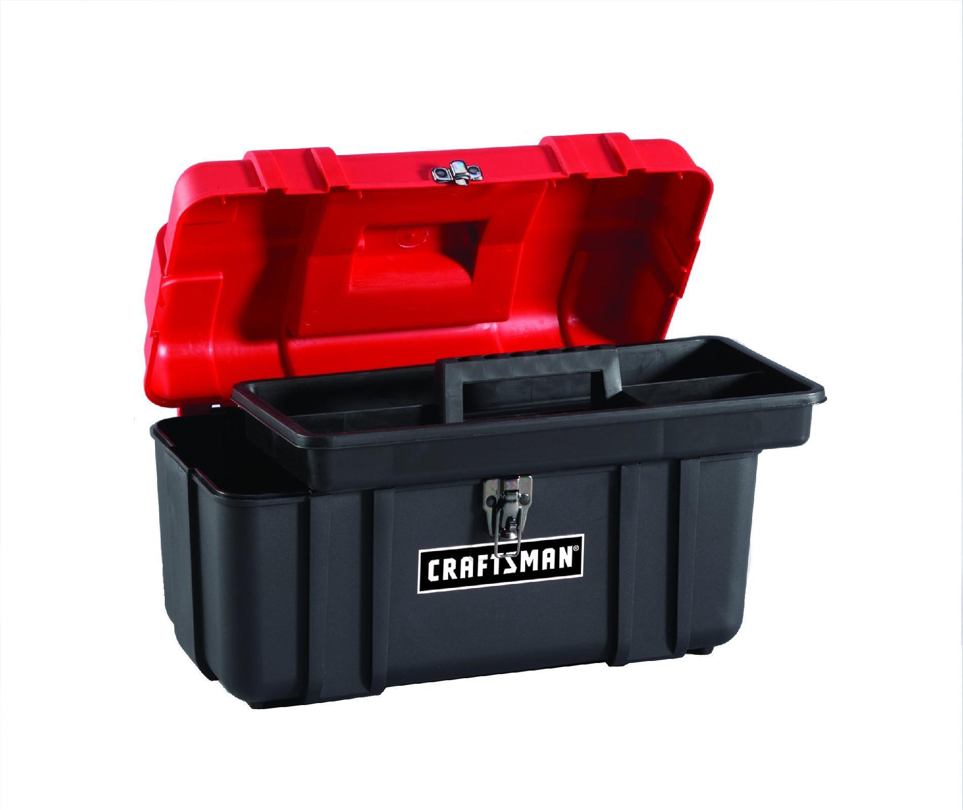"Craftsman 17"" Plastic Hand Box"