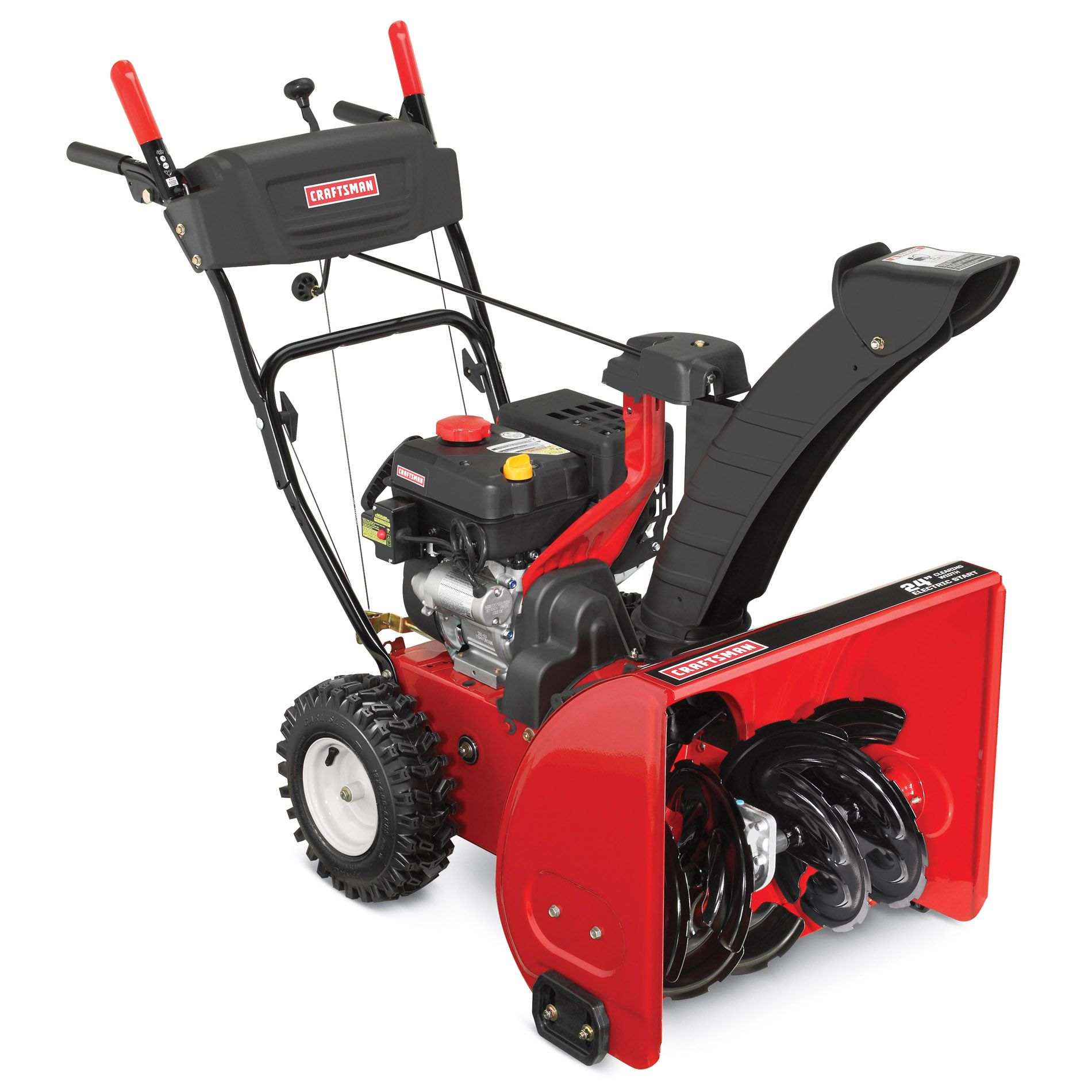 Craftsman 24-in. 208cc Dual-Stage Snowblower