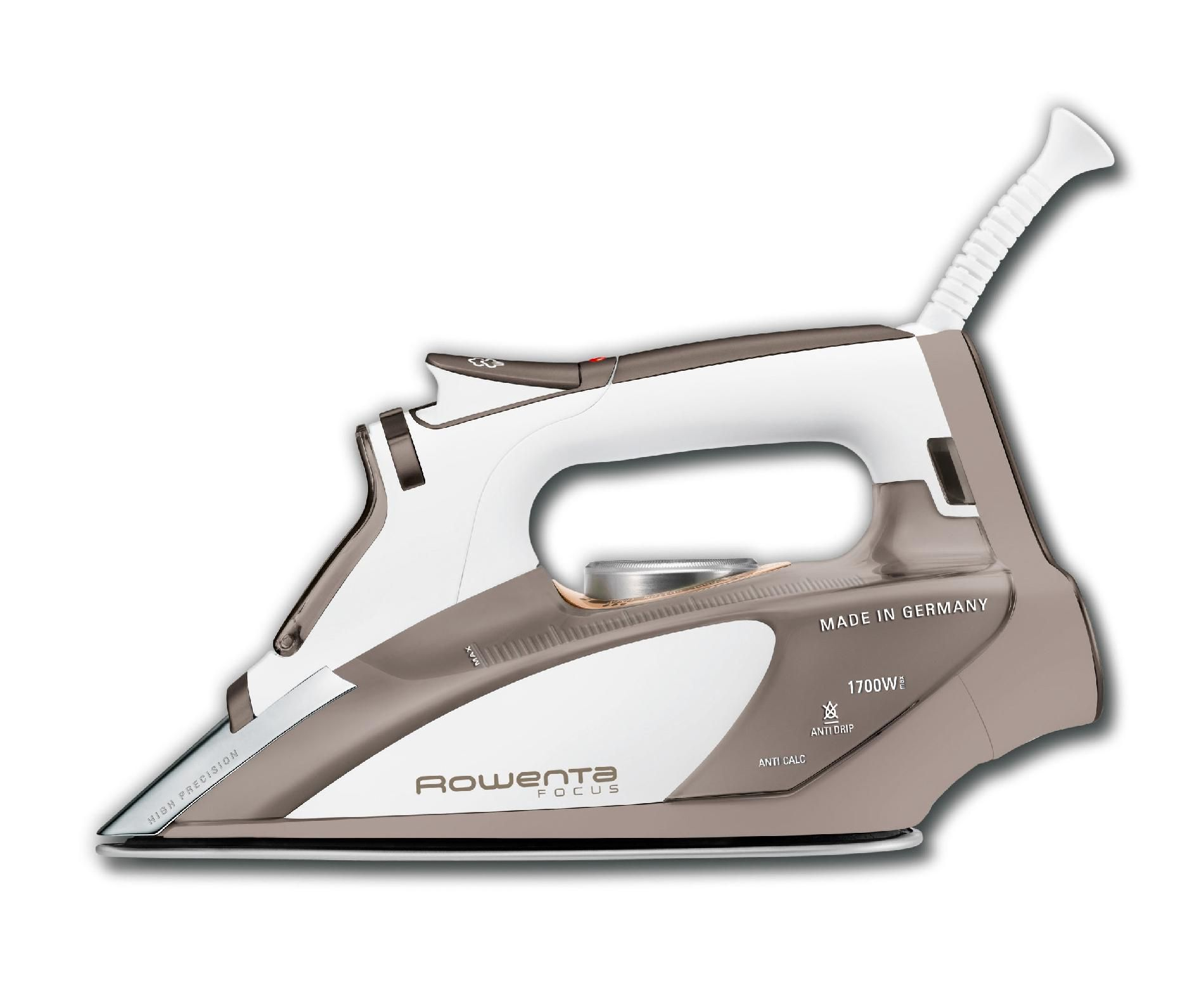 Rowenta Focus Stainless Steel 1700 Watt Iron DW5080