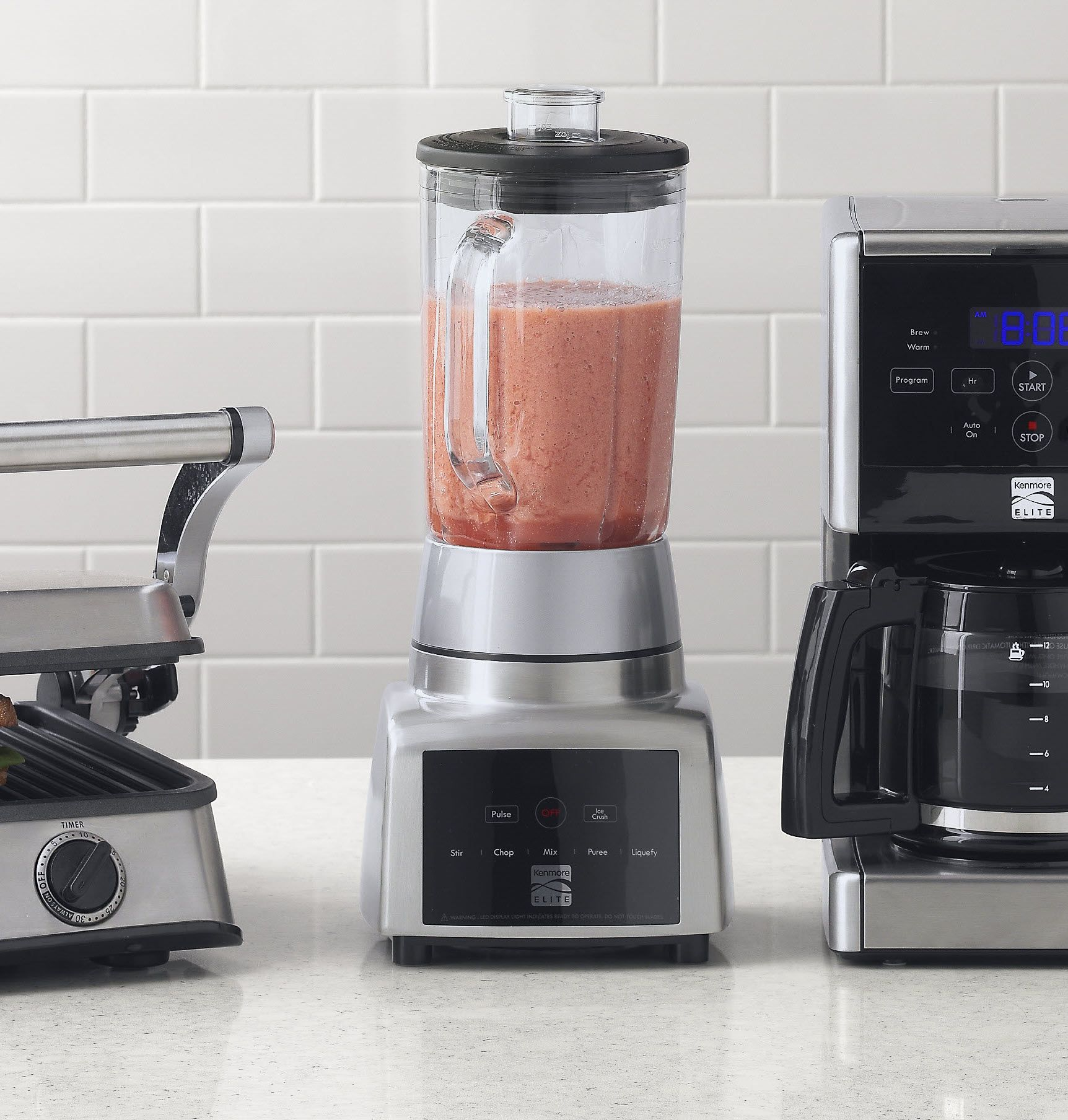 Kenmore Elite 900 Watt Brushed Aluminum Blender