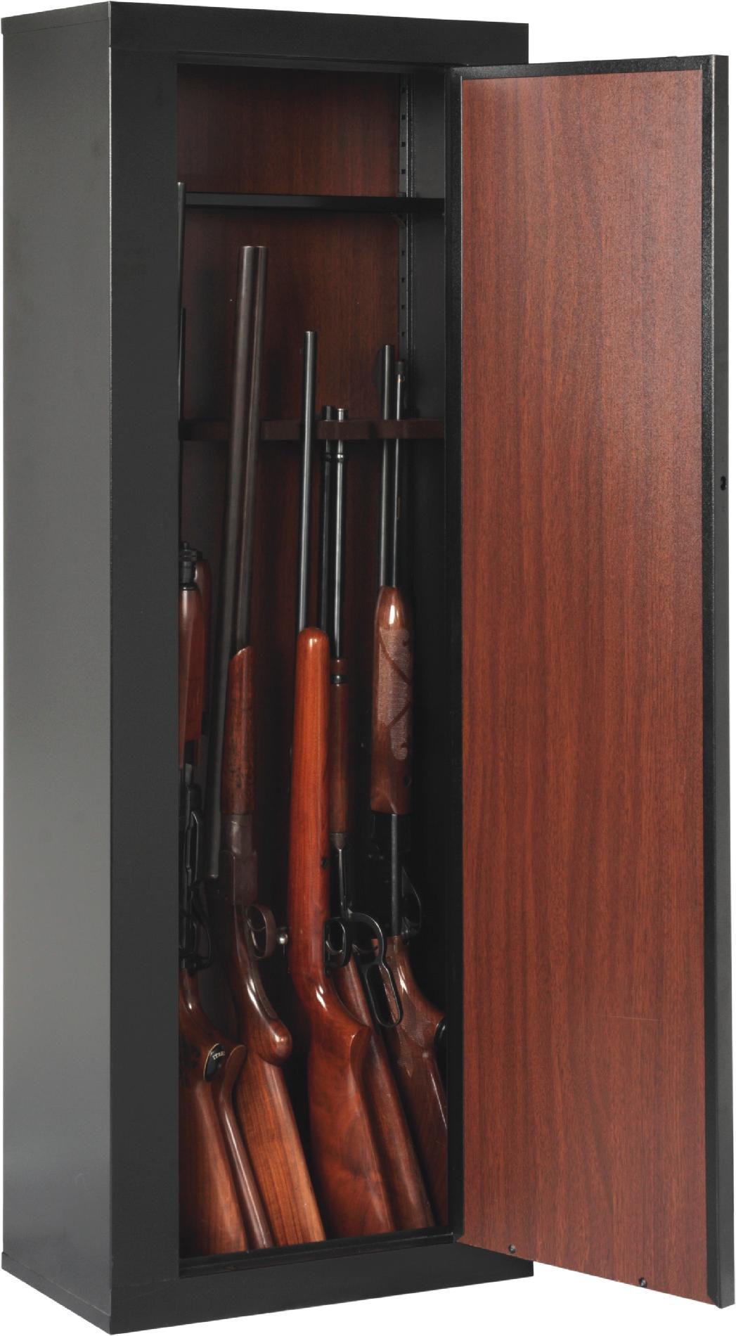 American Furniture Classics 10 Gun Metal Cabinet