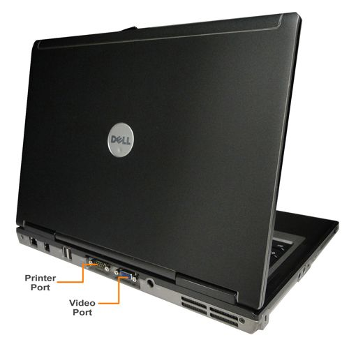"Dell Latitude D620 Notebook with Armor Shield Intel, Core2Duo 1.8GHz, 2GB, 60GB, CDRW/DVD, 14.1""W, Win 7HP, Refurbished"