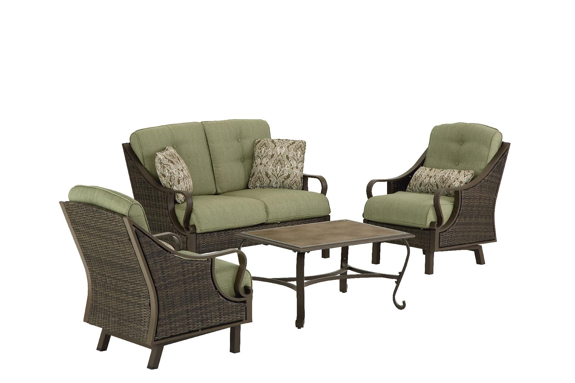 La-Z-Boy Outdoor Peyton 4 Pc. Seating Set