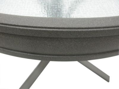 "Garden Oasis Grandview 20"" Round Side Table"
