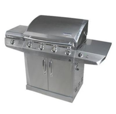 Char-Broil 4-Burner Infrared Gas Grill with Side Burner and Auto Clean *Limited Availability