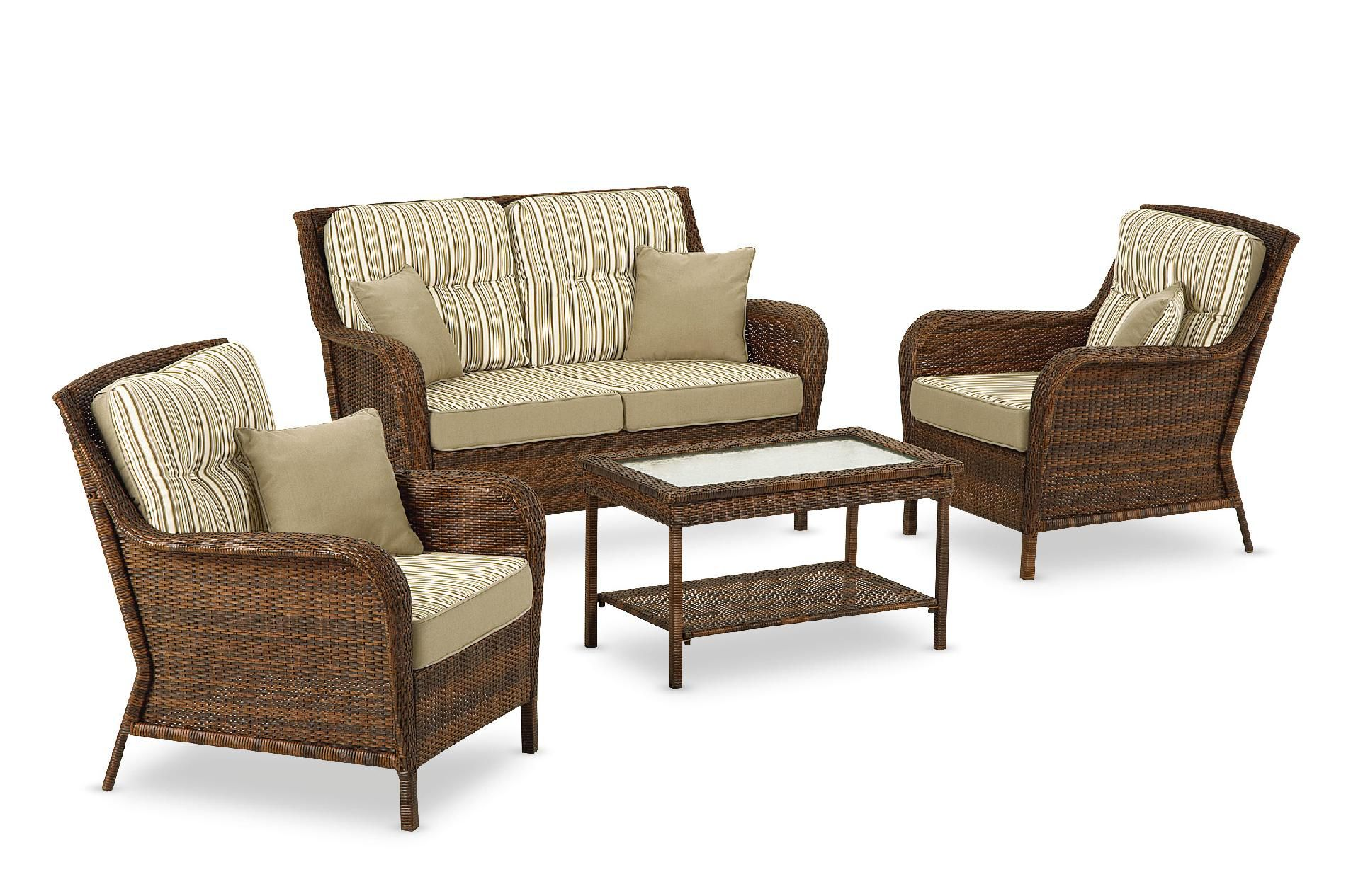 Ty Pennington Style Mayfield 4 Pc. Deep Seating Set