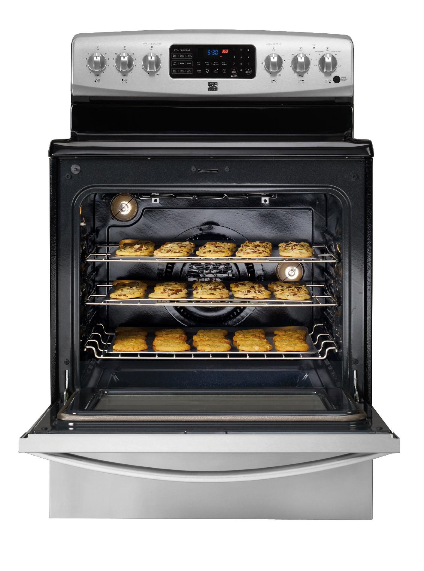Kenmore Elite 5.8 cu. ft. Electric Range - Stainless Steel