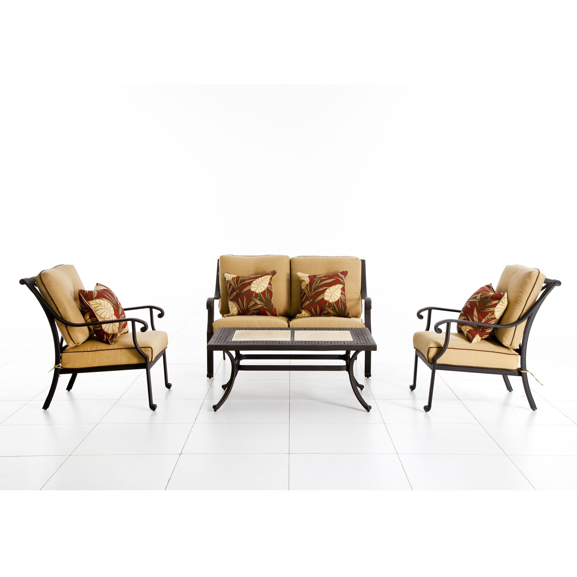 Grand Resort Thomas 4 Pc. Casual Seating Set *Limited Availability