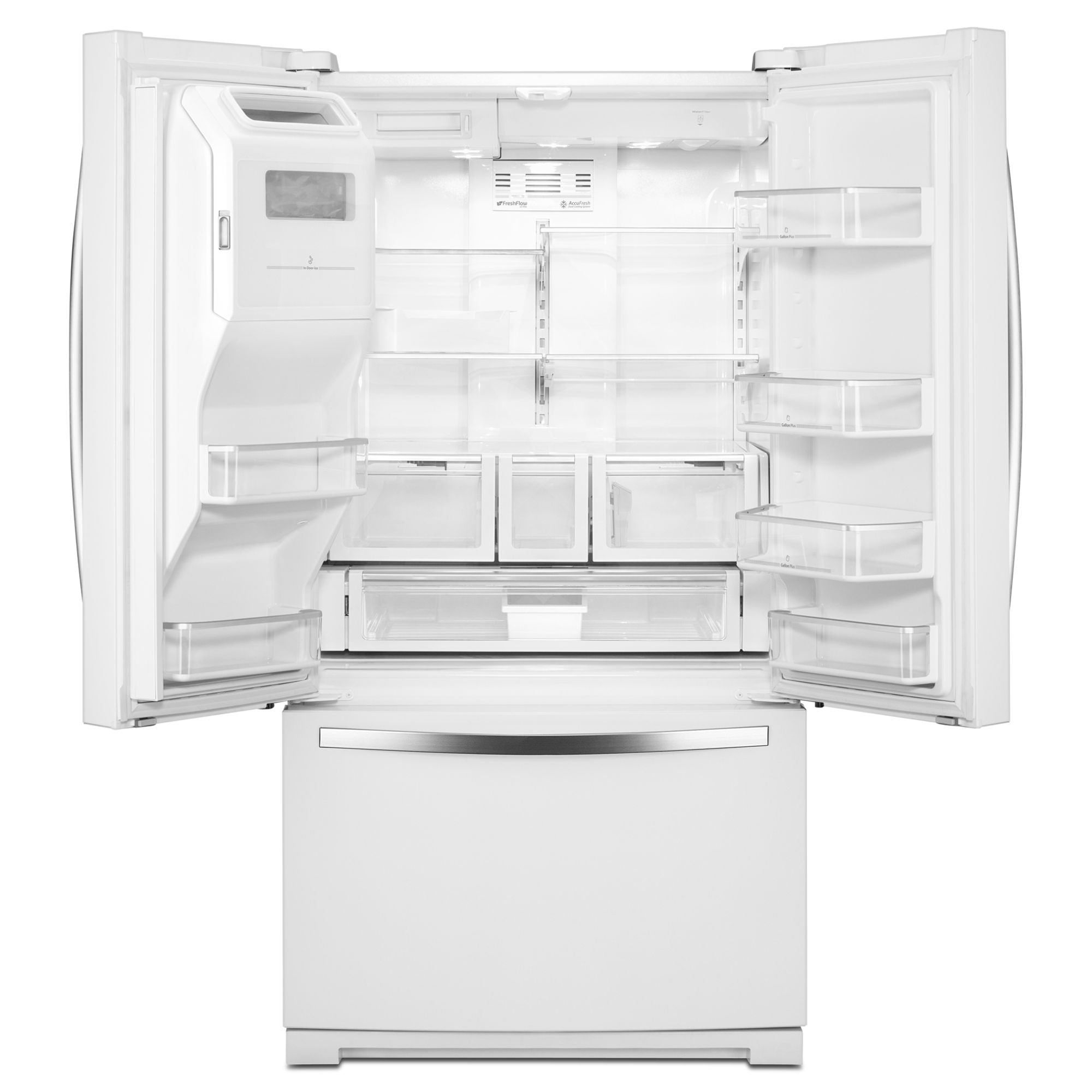 Whirlpool Gold 27 cu. ft. French Door Refrigerator - White Ice