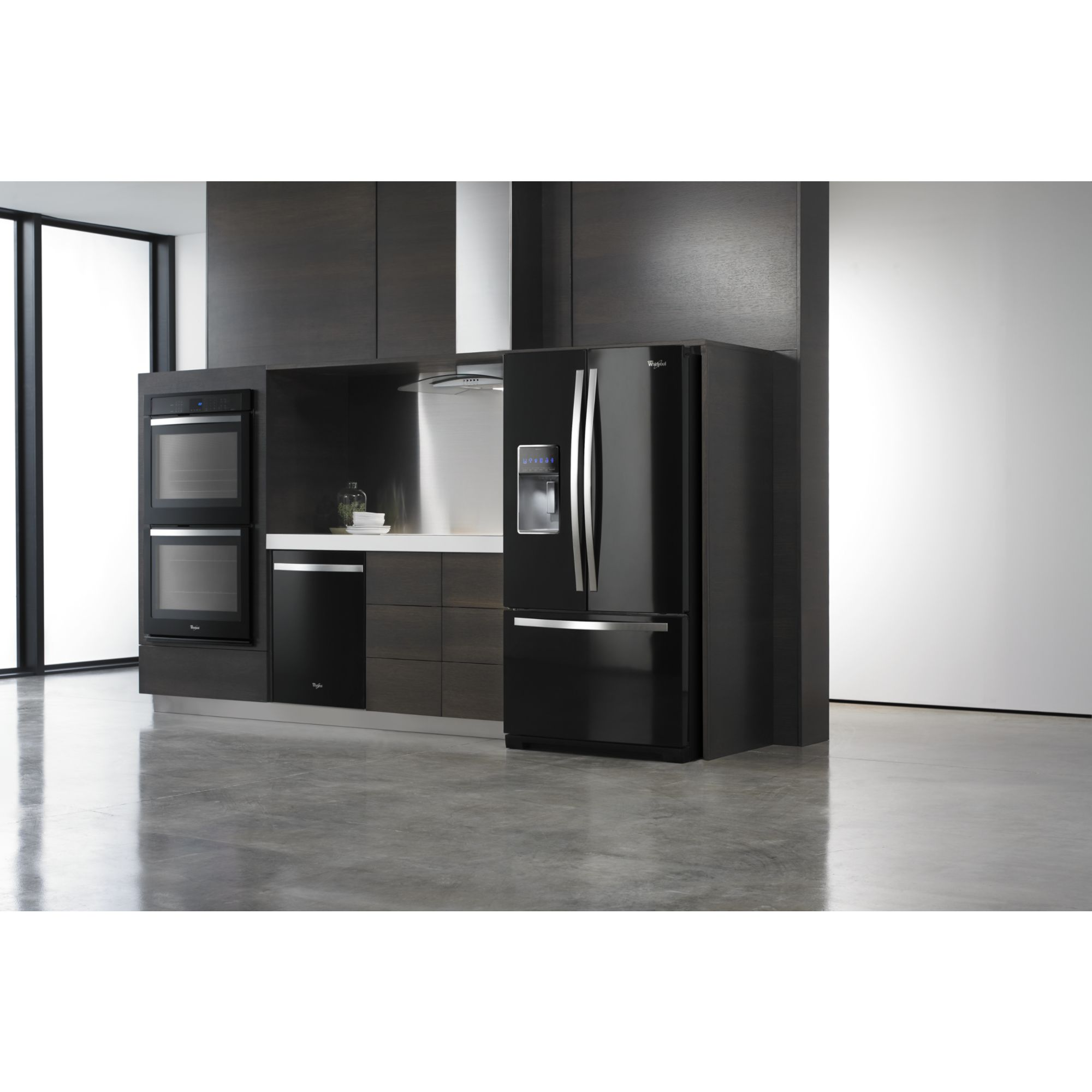 Whirlpool Gold 27 cu. ft. French Door Refrigerator  - Black Ice