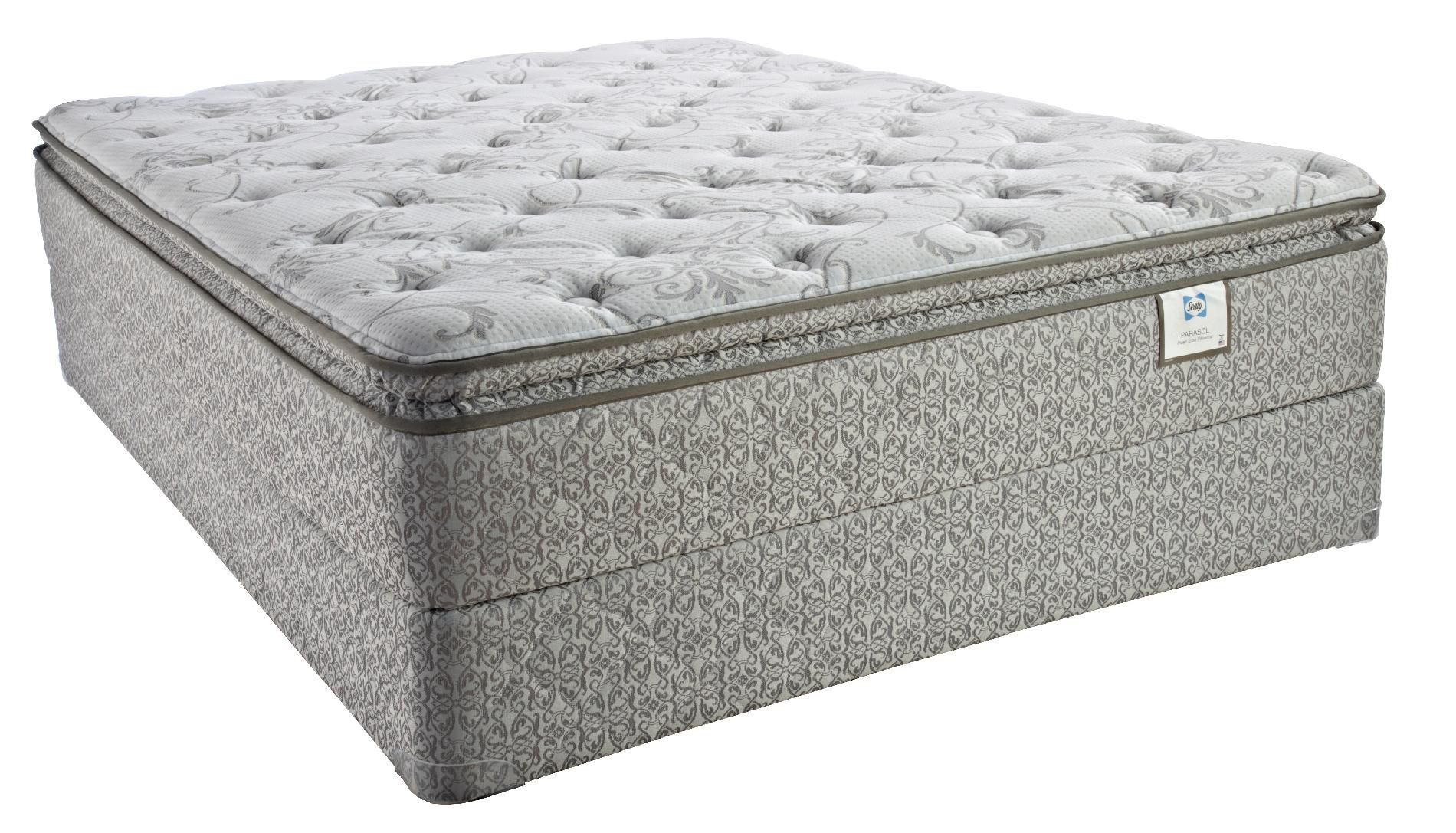 Sealy Patrician Select Plush Euro Pillowtop King Mattress Only