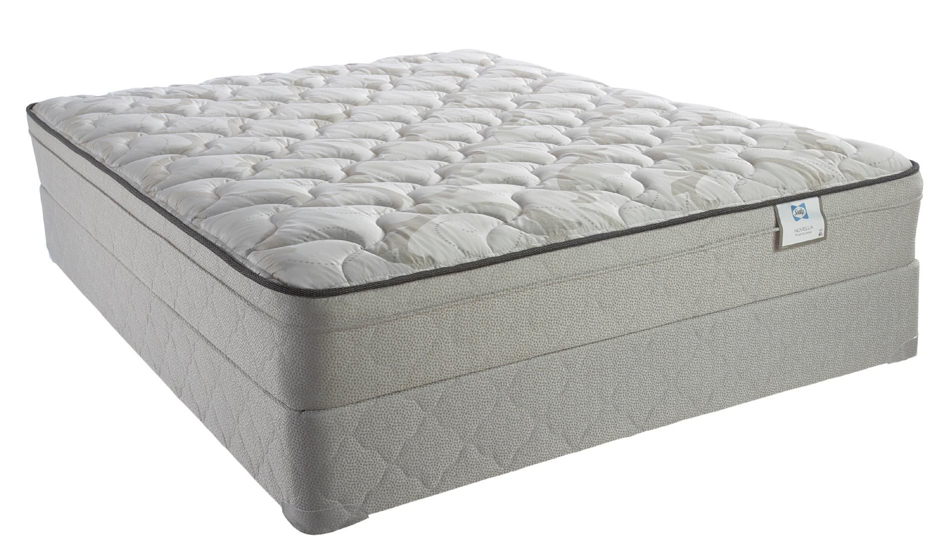 Sealy Plush Euro Pillowtop King Mattress Only Tambour Select II