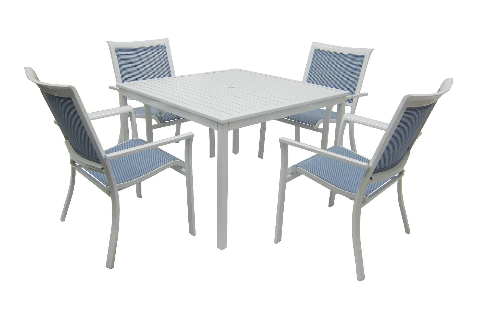Grand Resort Glendora White 5 Pc. Dining Set