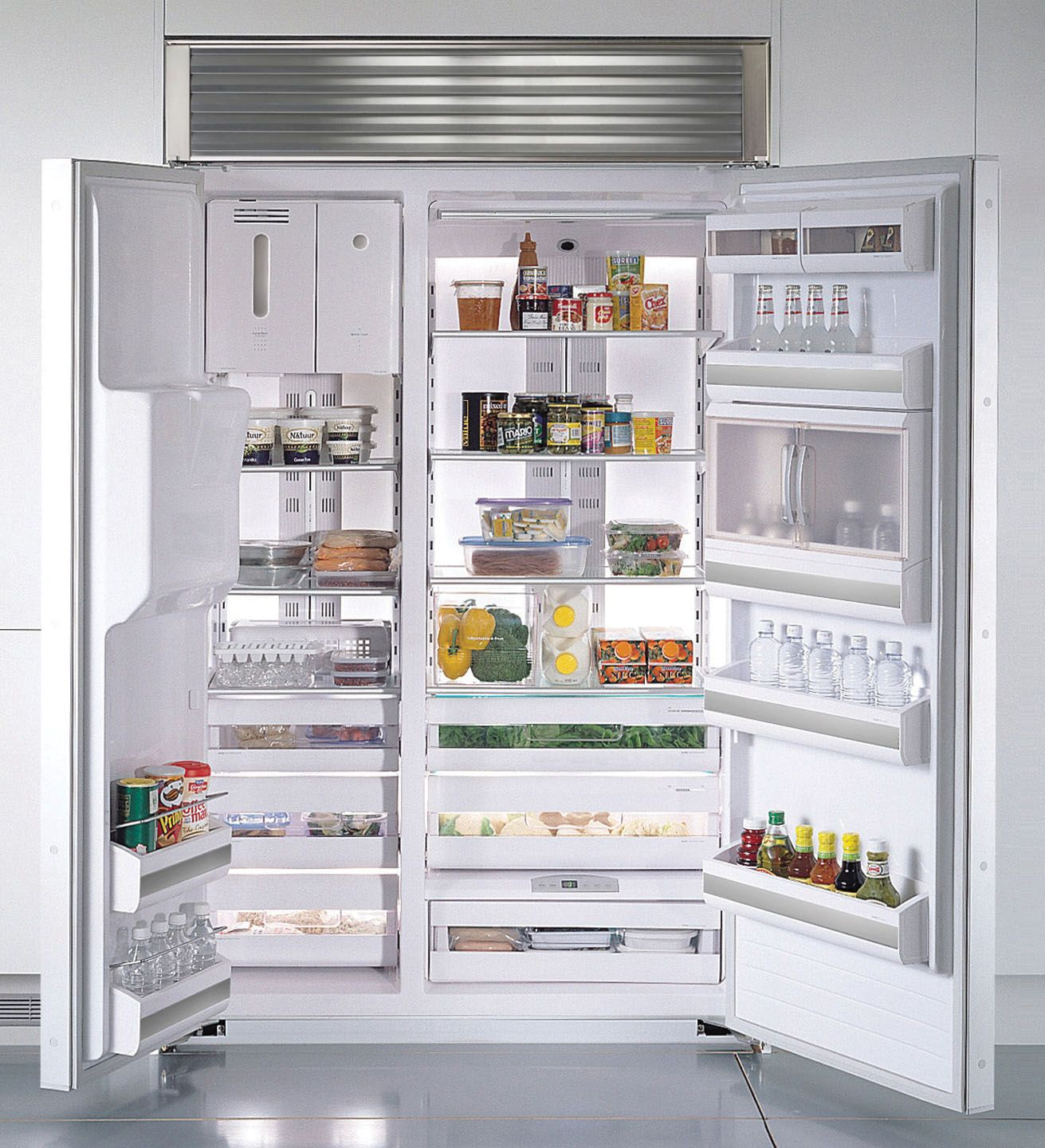 Kenmore Pro 29.5 cu. ft.  Built-In Side-By-Side Refrigerator
