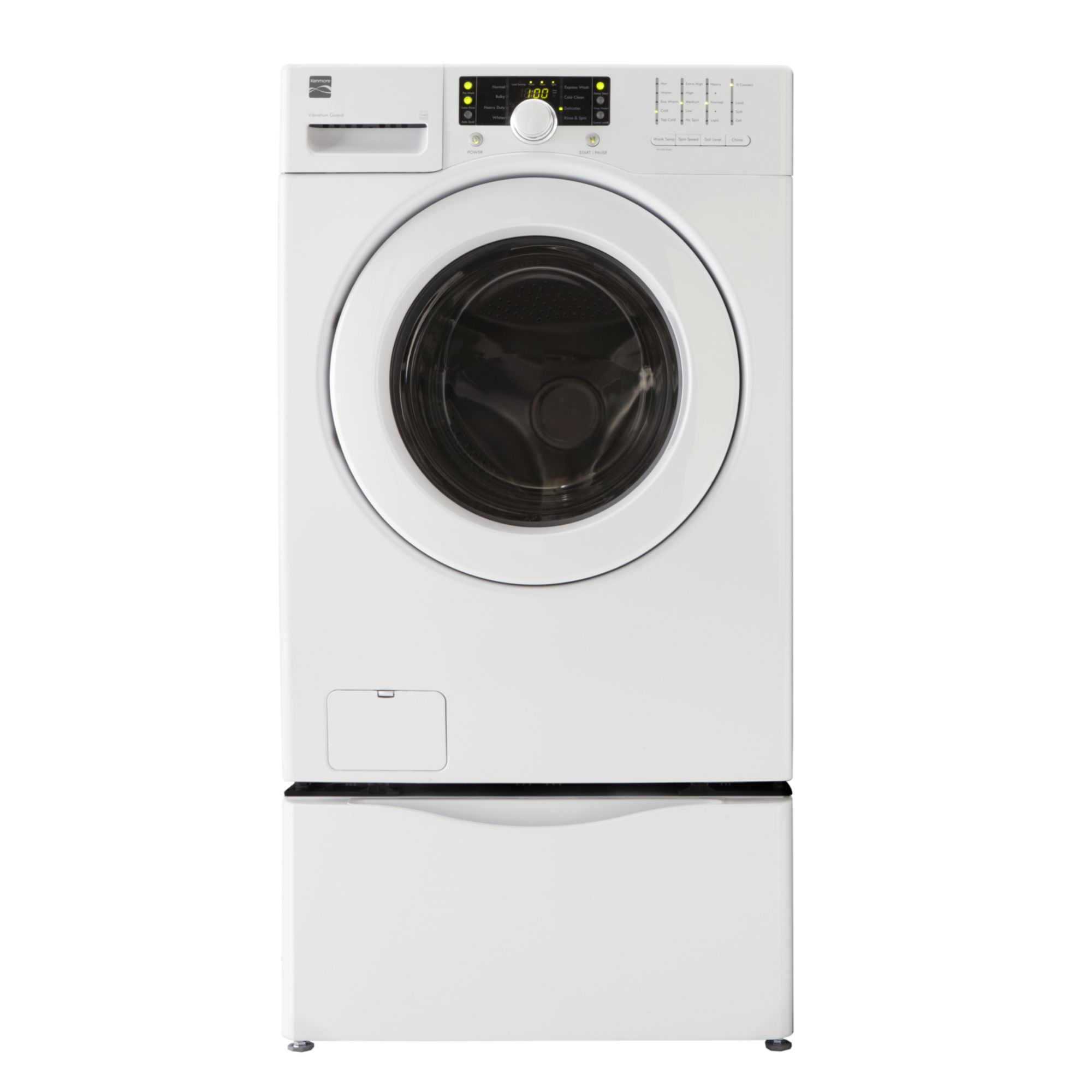 Kenmore 3.6 cu. ft. Front-Load Washer - White