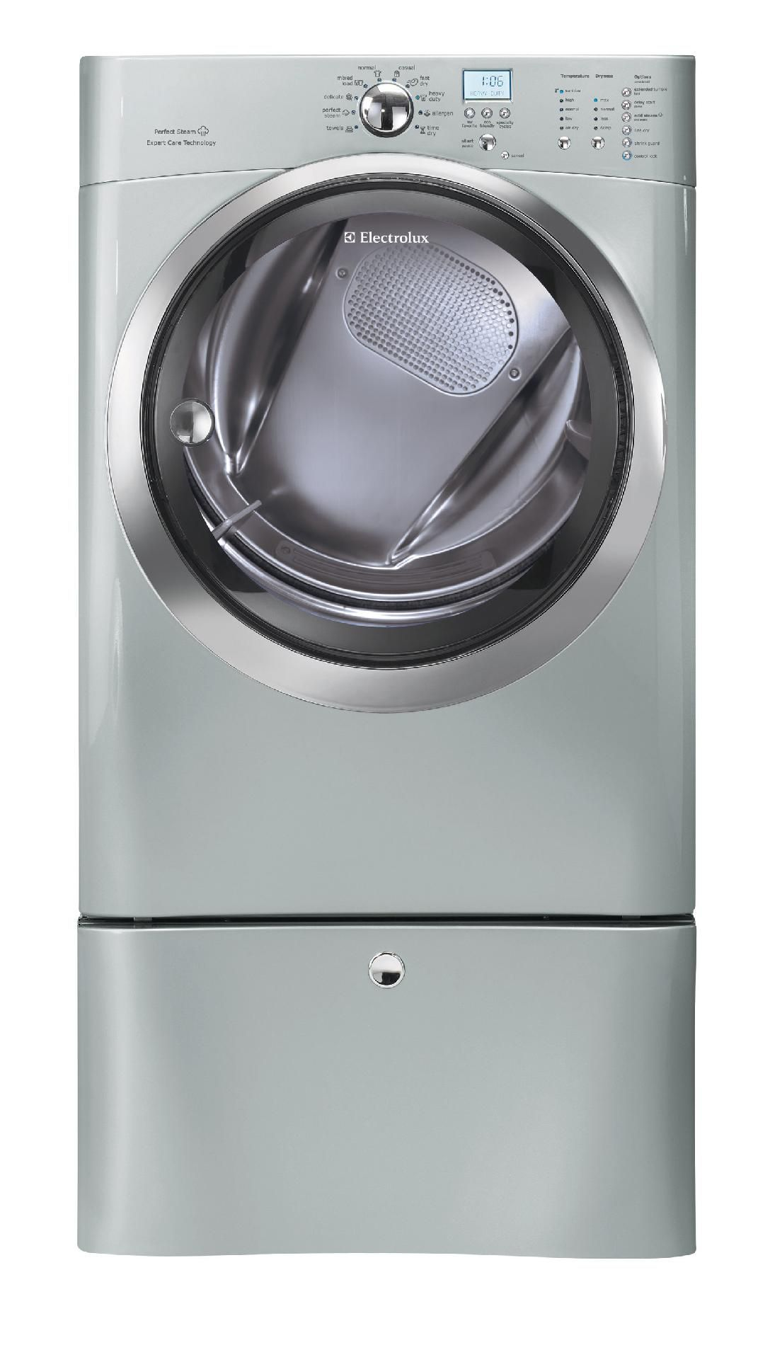 Electrolux IQ-Touch™ 8.0 cu. ft. Large-Capacity Electric Dryer - Silver Sands