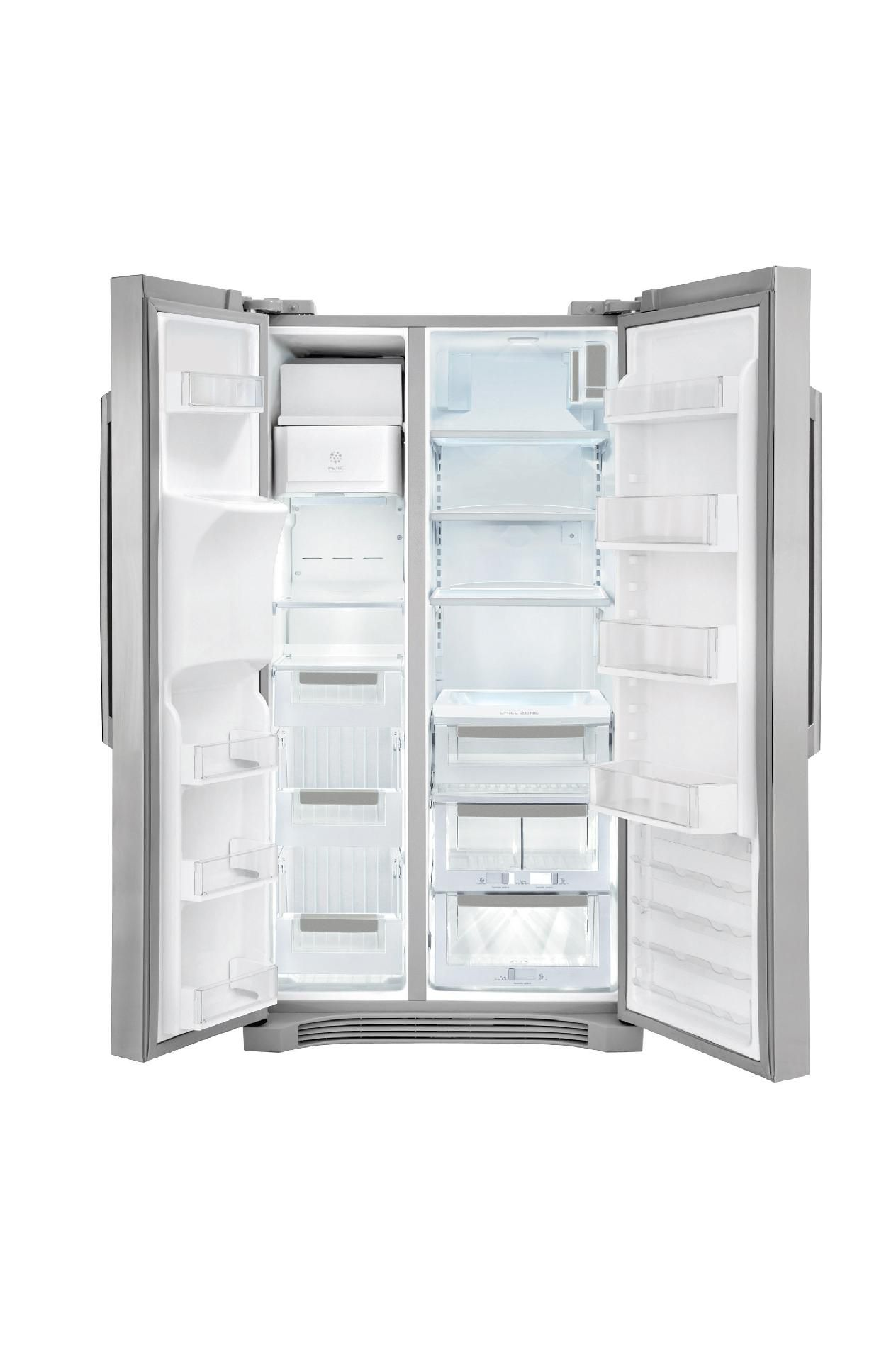 Electrolux EI23CS35KS 22.6 cu. ft. Counter-Depth Side-By-Side Refrigerator - Stainless Steel