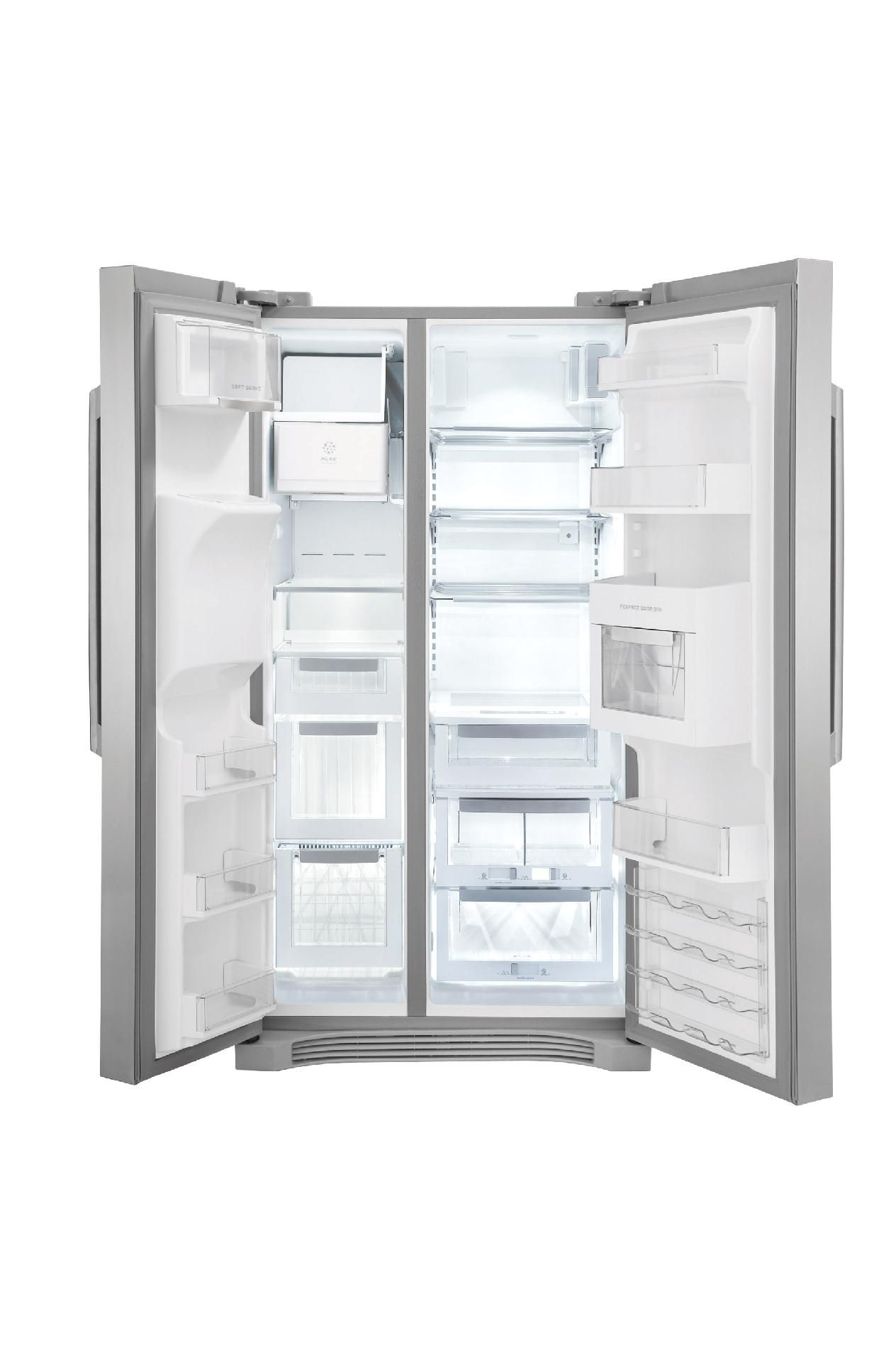 Electrolux 26 cu. ft. Side-By-Side Refrigerator - Stainless Steel