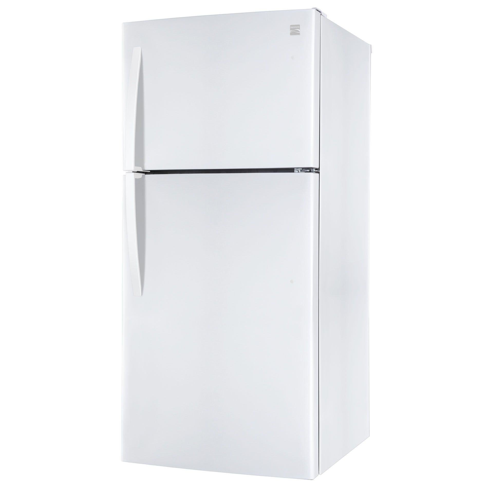 Kenmore 20 cu. ft. White Top-Freezer Refrigerator with Icemaker