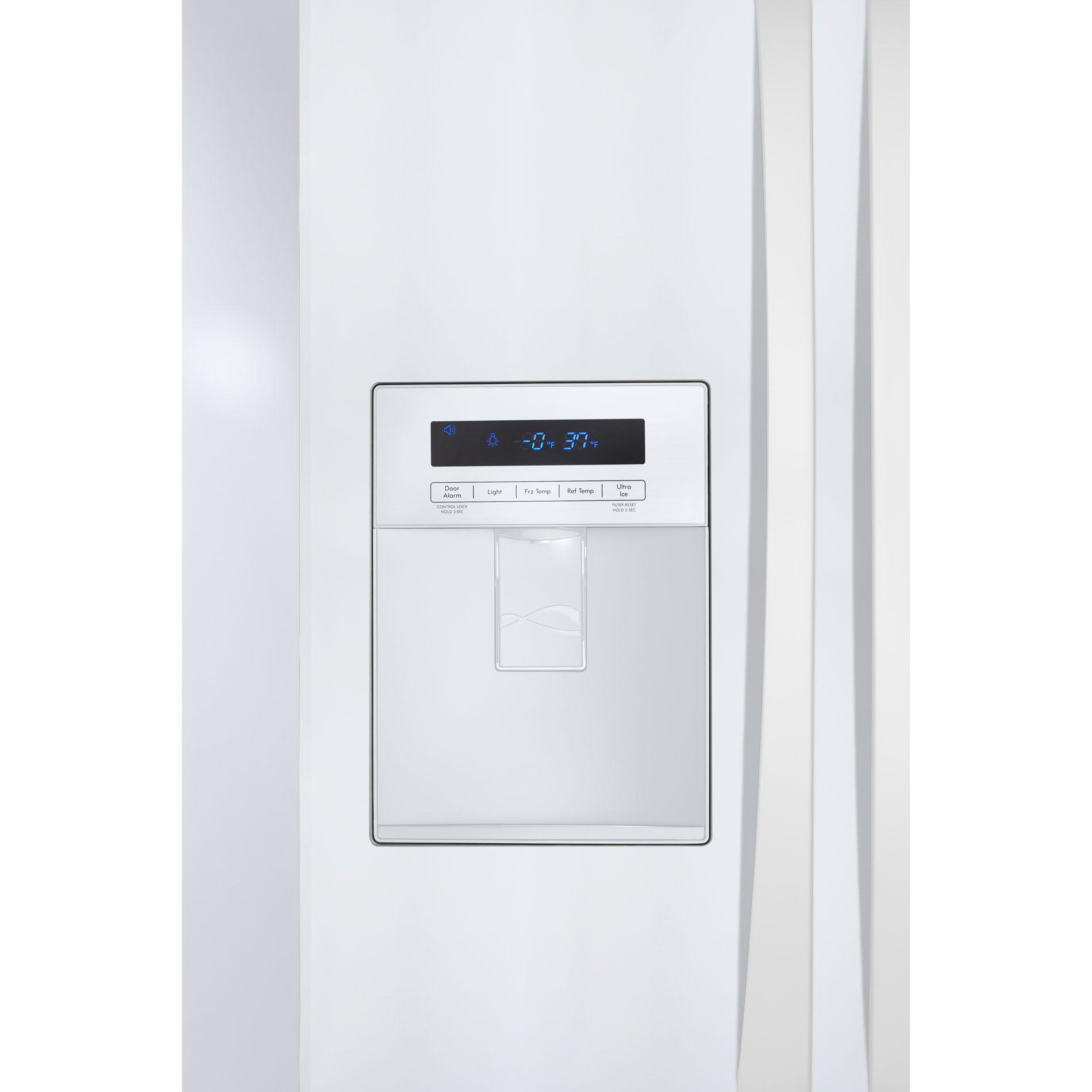 Kenmore Elite 20 cu. ft. French-Door Bottom-Freezer Refrigerator - White