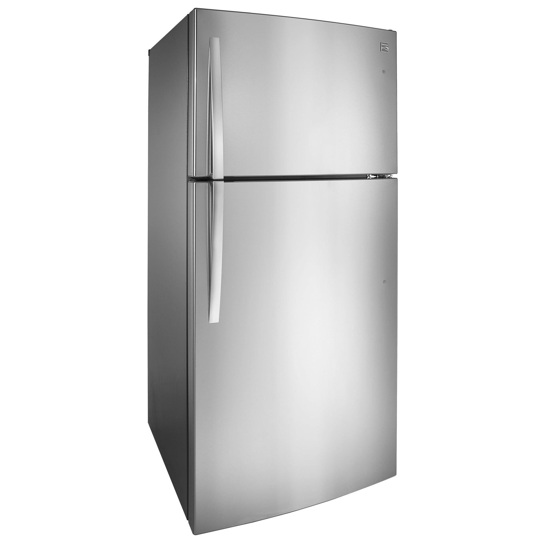 Kenmore 24 cu. ft. Top-Freezer Refrigerator w/ Icemaker - Stainless Steel