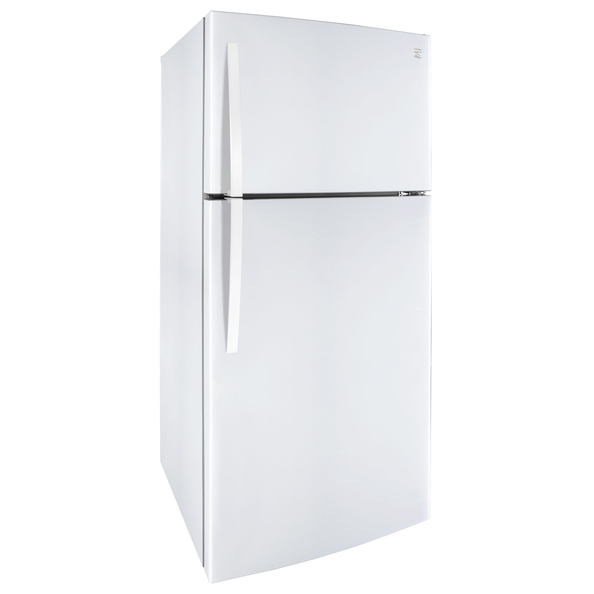Kenmore 24 cu. ft. Top-Freezer Refrigerator w/ Icemaker- White