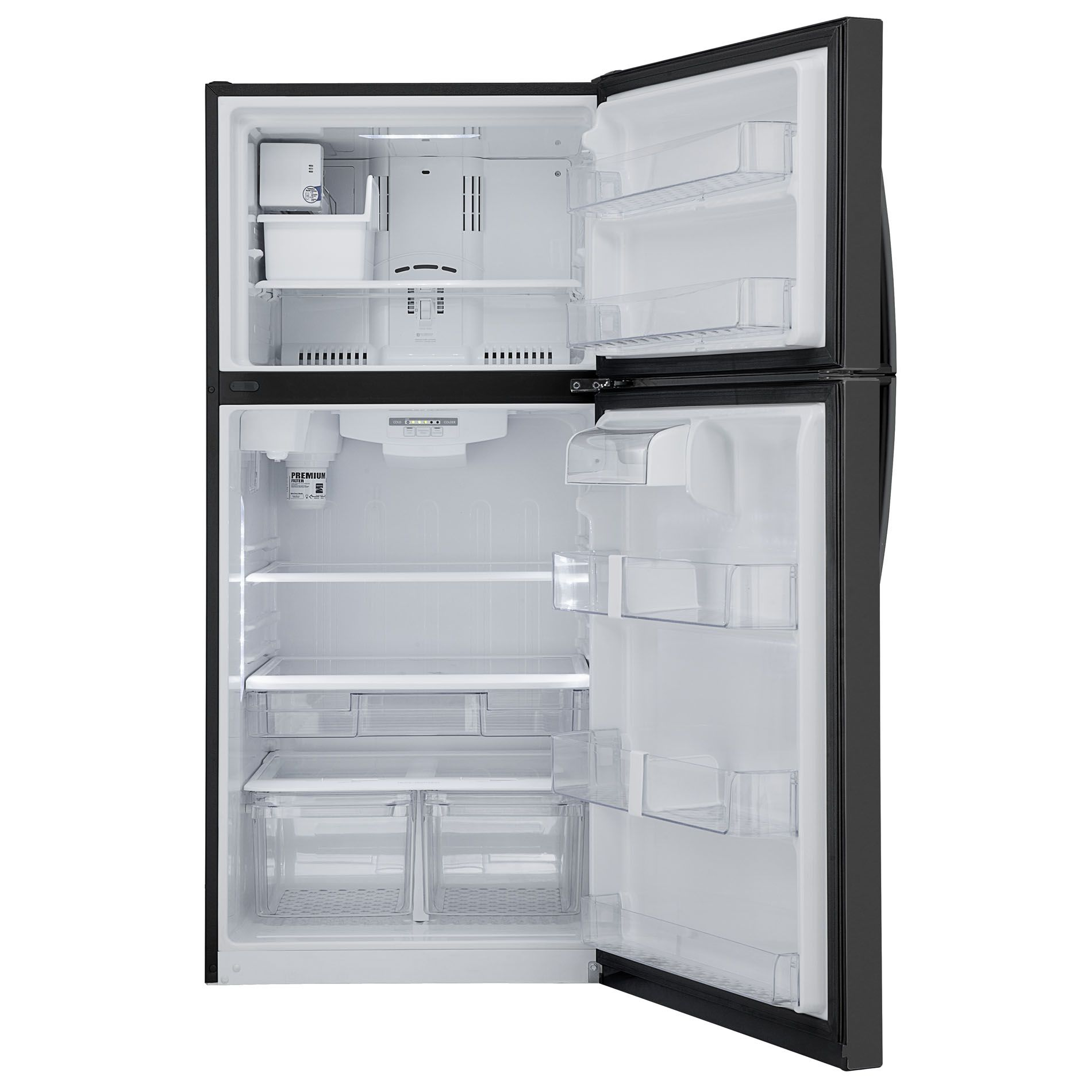 Kenmore 20 cu. ft. Black Top-Freezer Refrigerator with Internal Water Dispenser