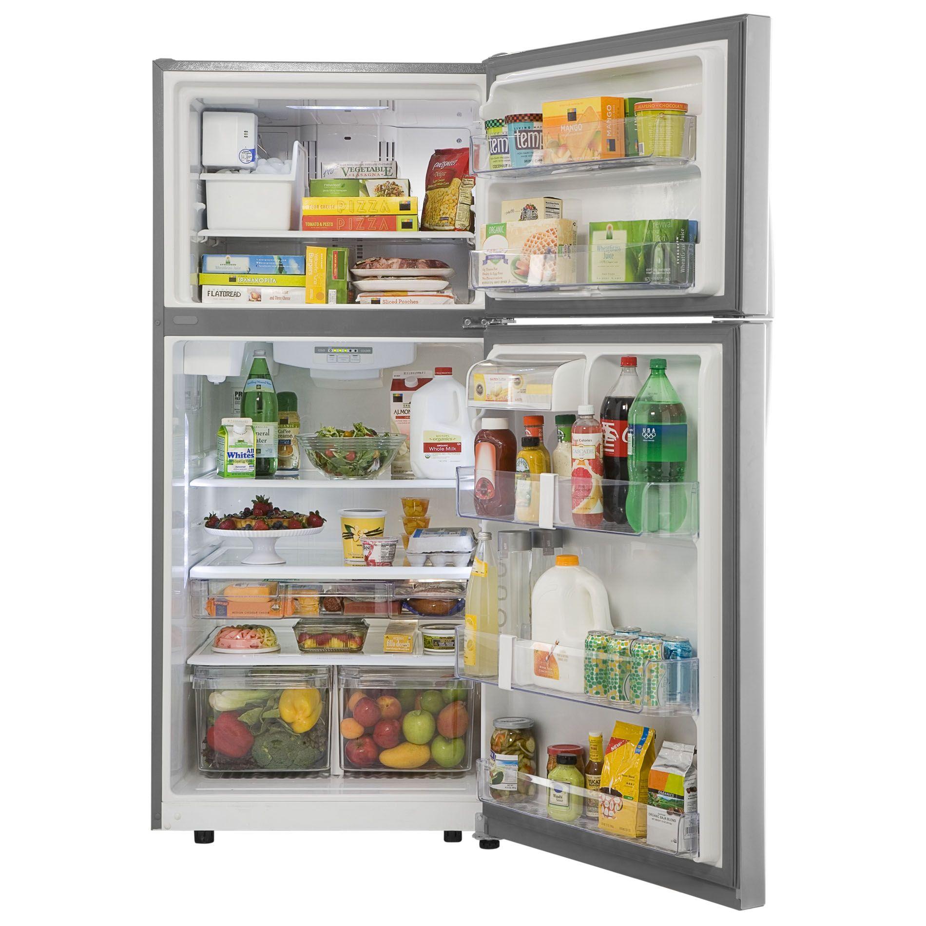 Kenmore 20 cu. ft. Stainless Steel Top-Freezer Refrigerator with Internal Water Dispenser