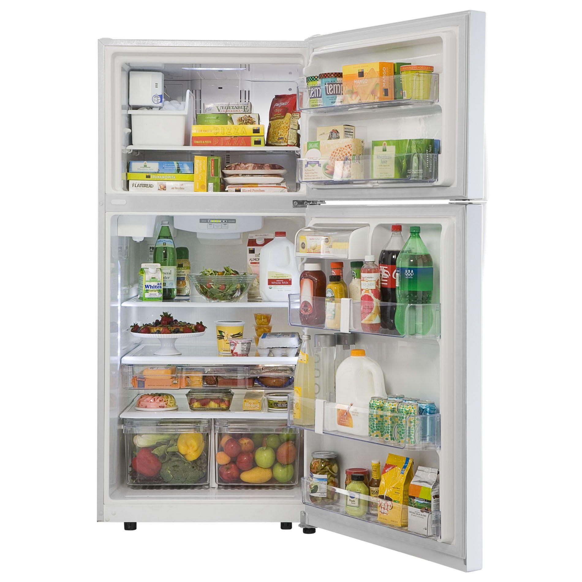 Kenmore 20 cu. ft. White Top-Freezer Refrigerator with Internal Water Dispenser